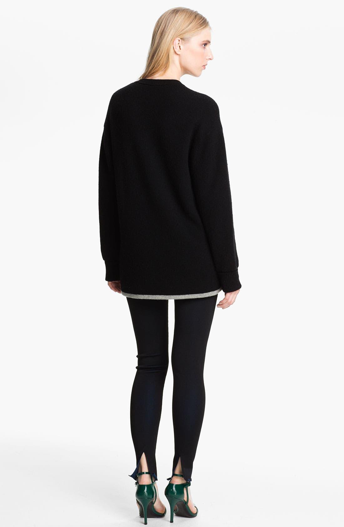 Alternate Image 2  - Alexander Wang Reversible Wool & Cashmere Sweatshirt