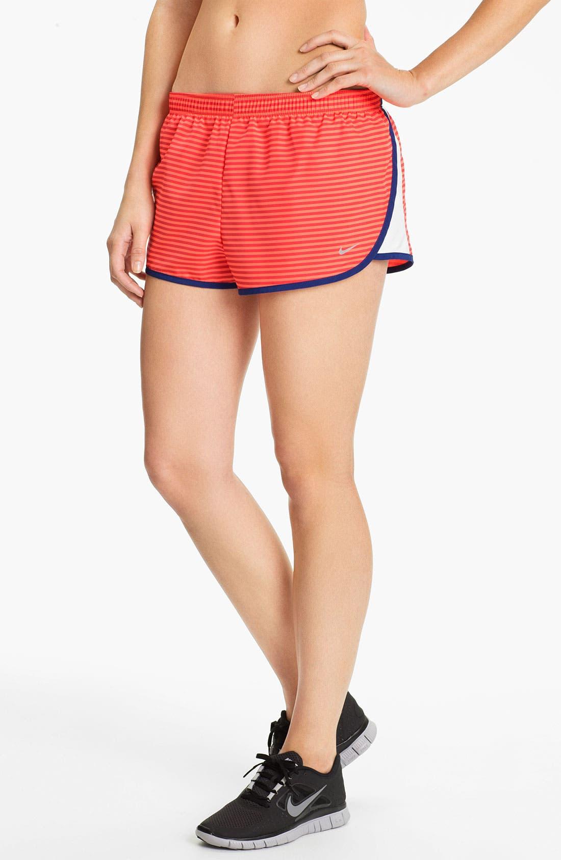 Alternate Image 1 Selected - Nike 'Road Race' Stripe Running Shorts