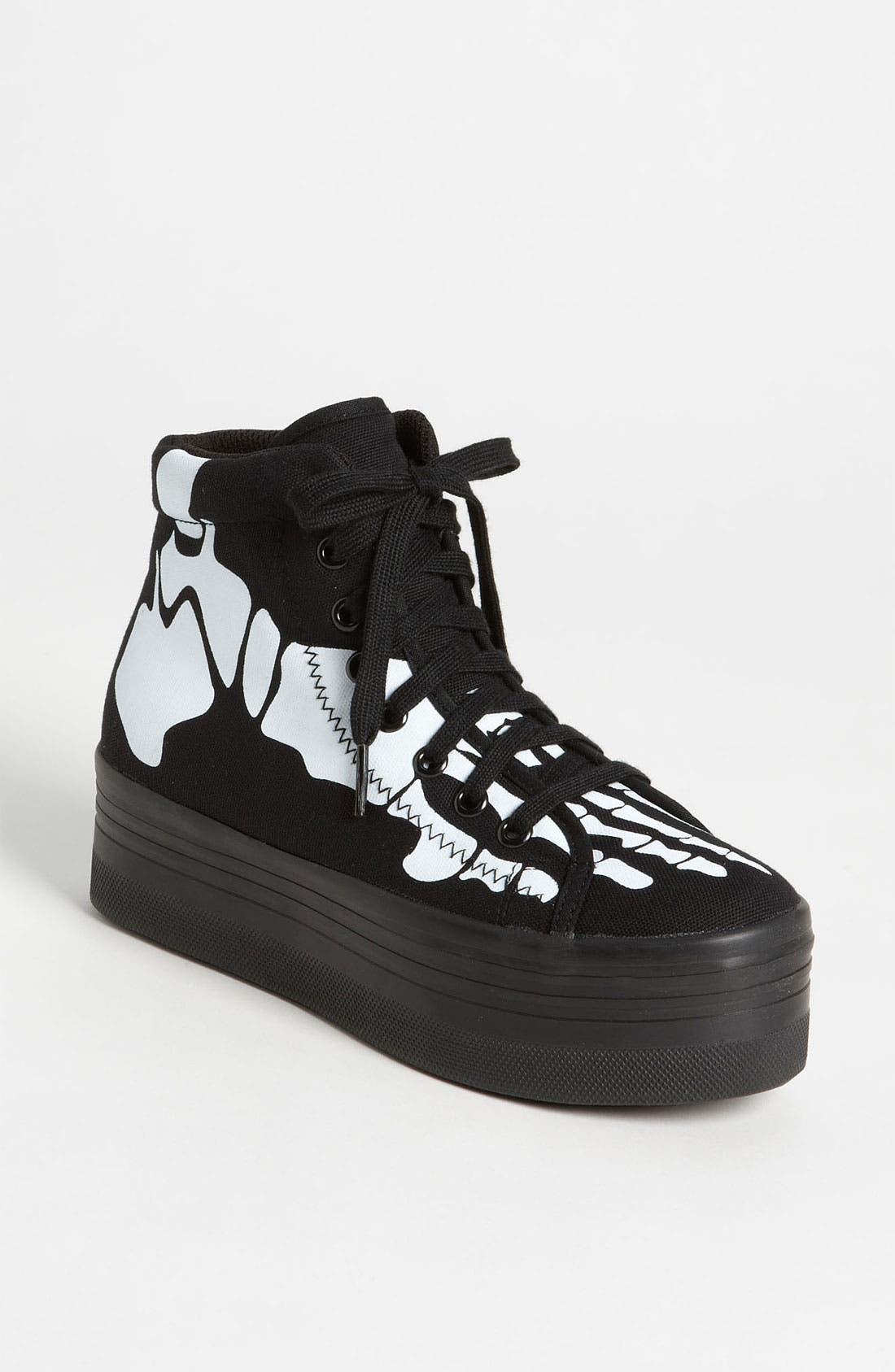 Alternate Image 1 Selected - Jeffrey Campbell 'Homg Skeleton' Sneaker