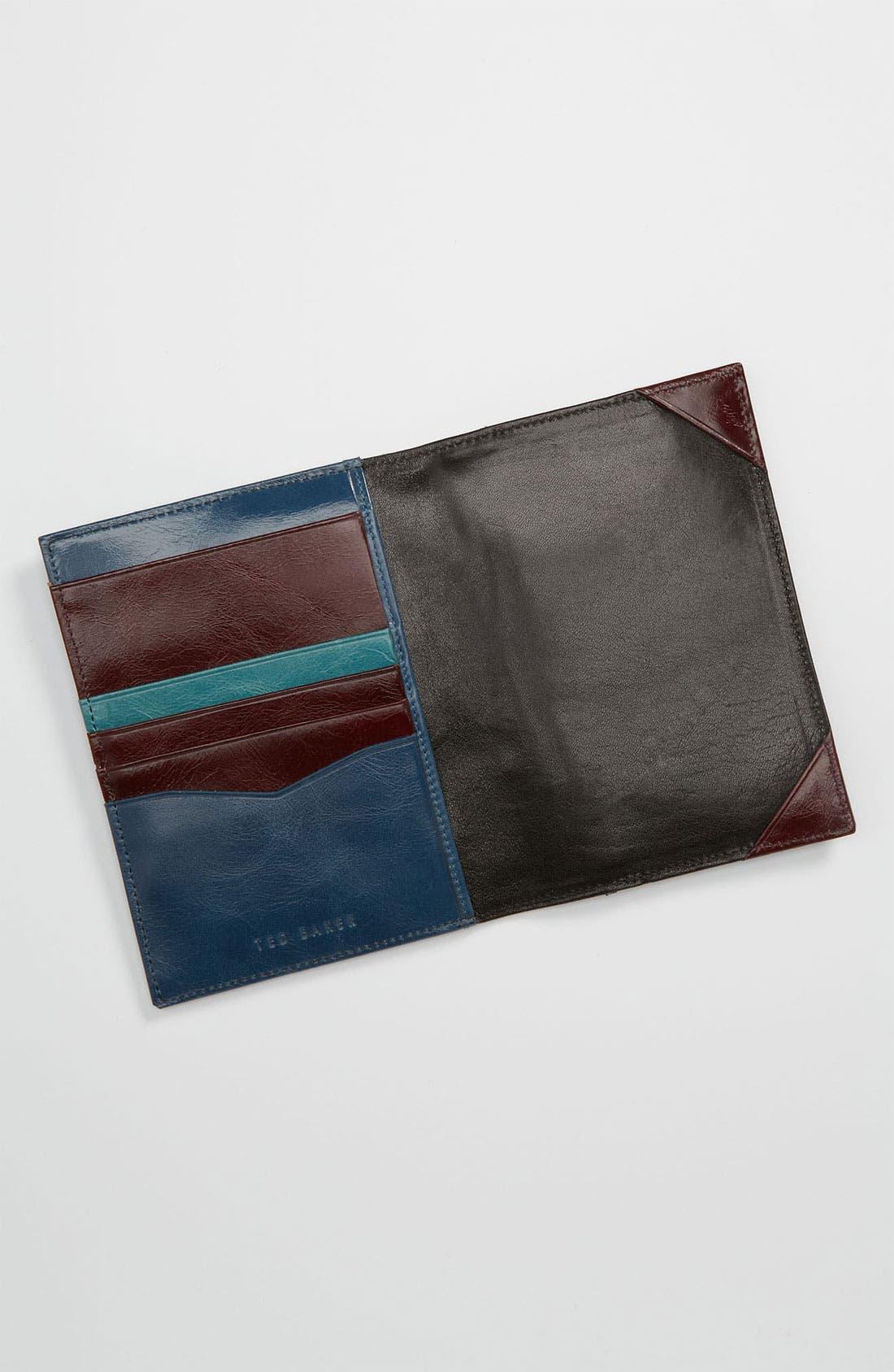 Alternate Image 3  - Ted Baker London 'Passdoc' Passport Wallet