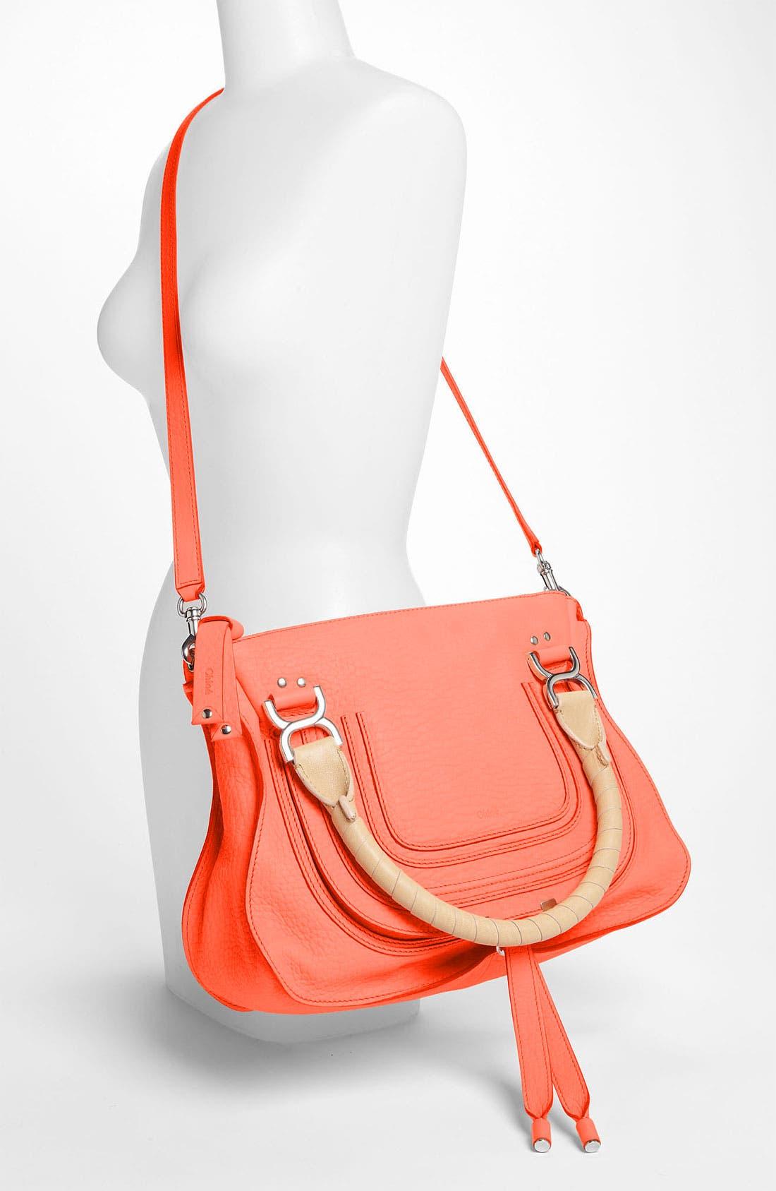 Alternate Image 2  - Chloé 'Marcie - Small' Leather Satchel