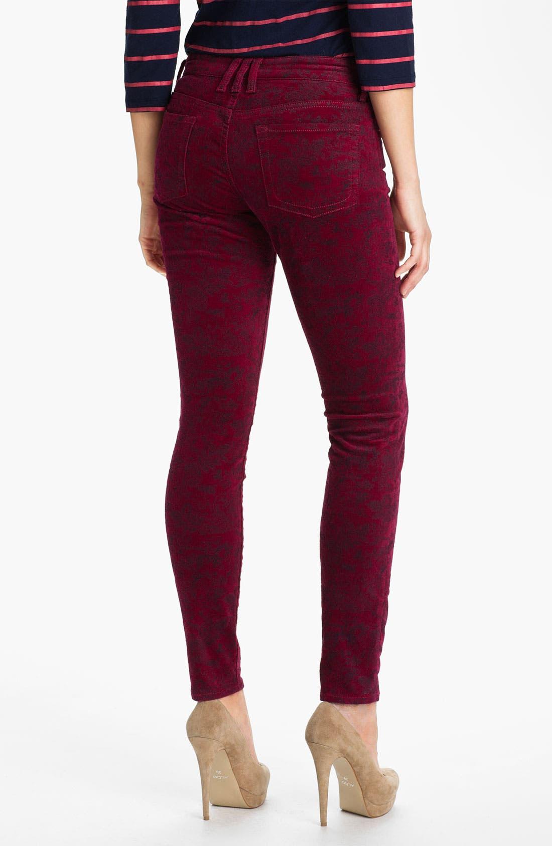 Alternate Image 2  - KUT from the Kloth Velveteen Skinny Jeans