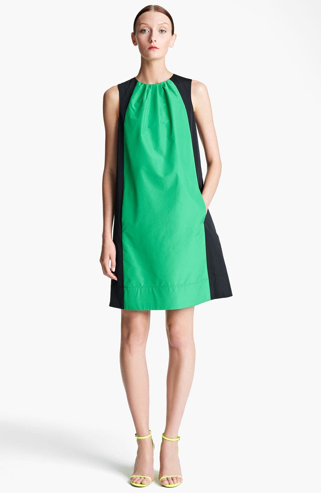 Alternate Image 1 Selected - Lida Baday Colorblock Radzimir Dress