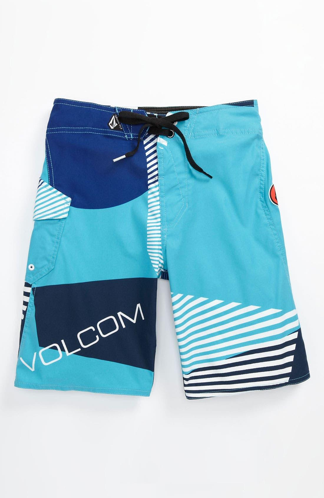 Main Image - Volcom 'Maguro Fun' Board Shorts (Big Boys)