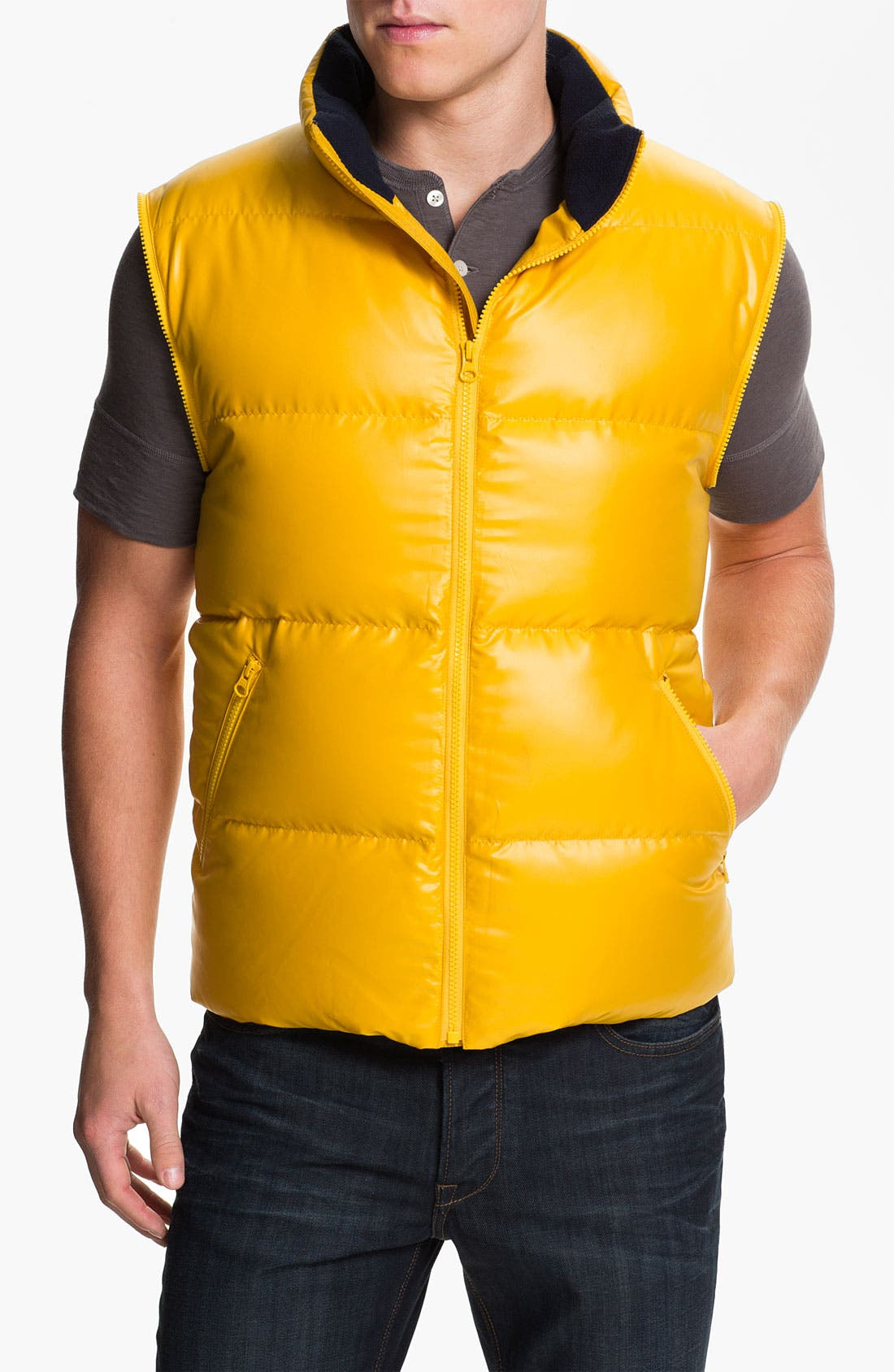 Alternate Image 4  - Brooks Brothers Convertible Down Jacket