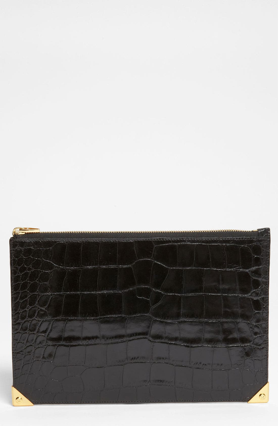 Main Image - Alexander Wang 'Prisma' Embossed Leather Clutch