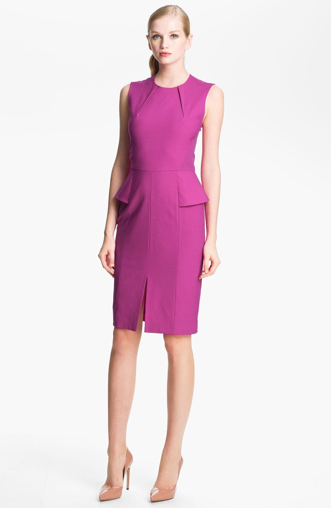 Alternate Image 1 Selected - Rachel Roy Stretch Wool Sheath Dress