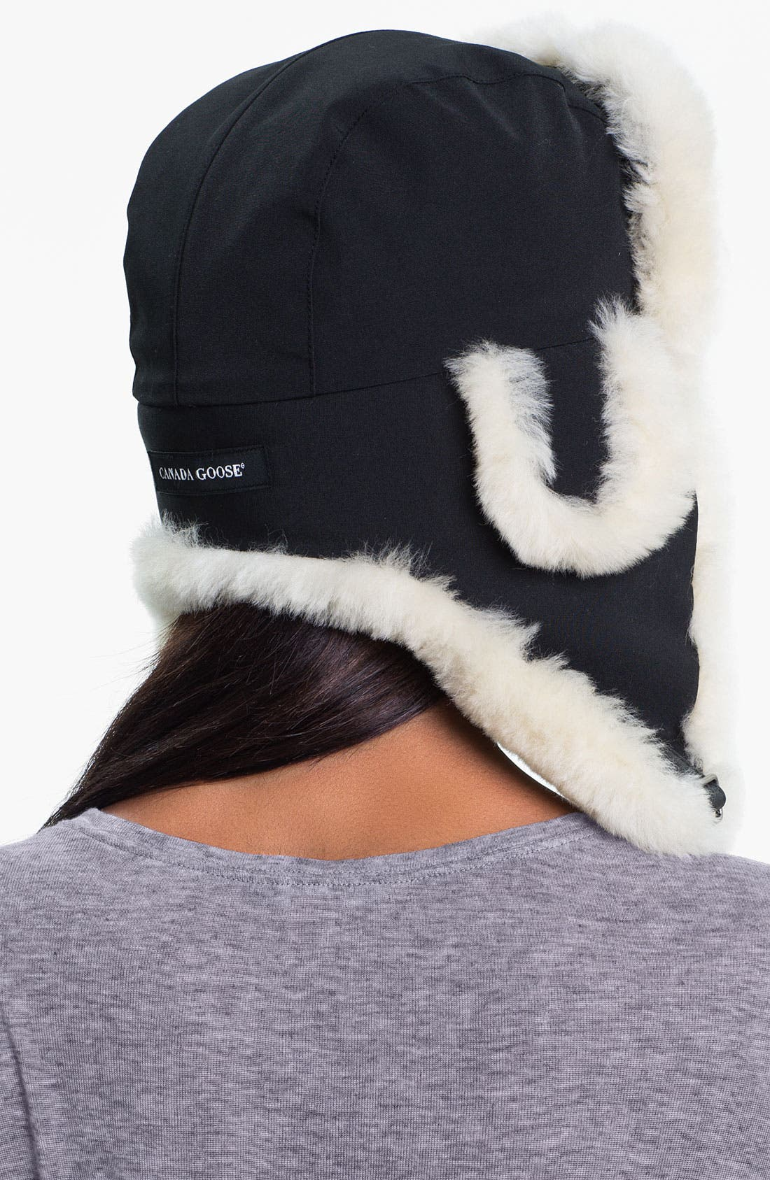Alternate Image 2  - Canada Goose Genuine Shearling Pilot Hat