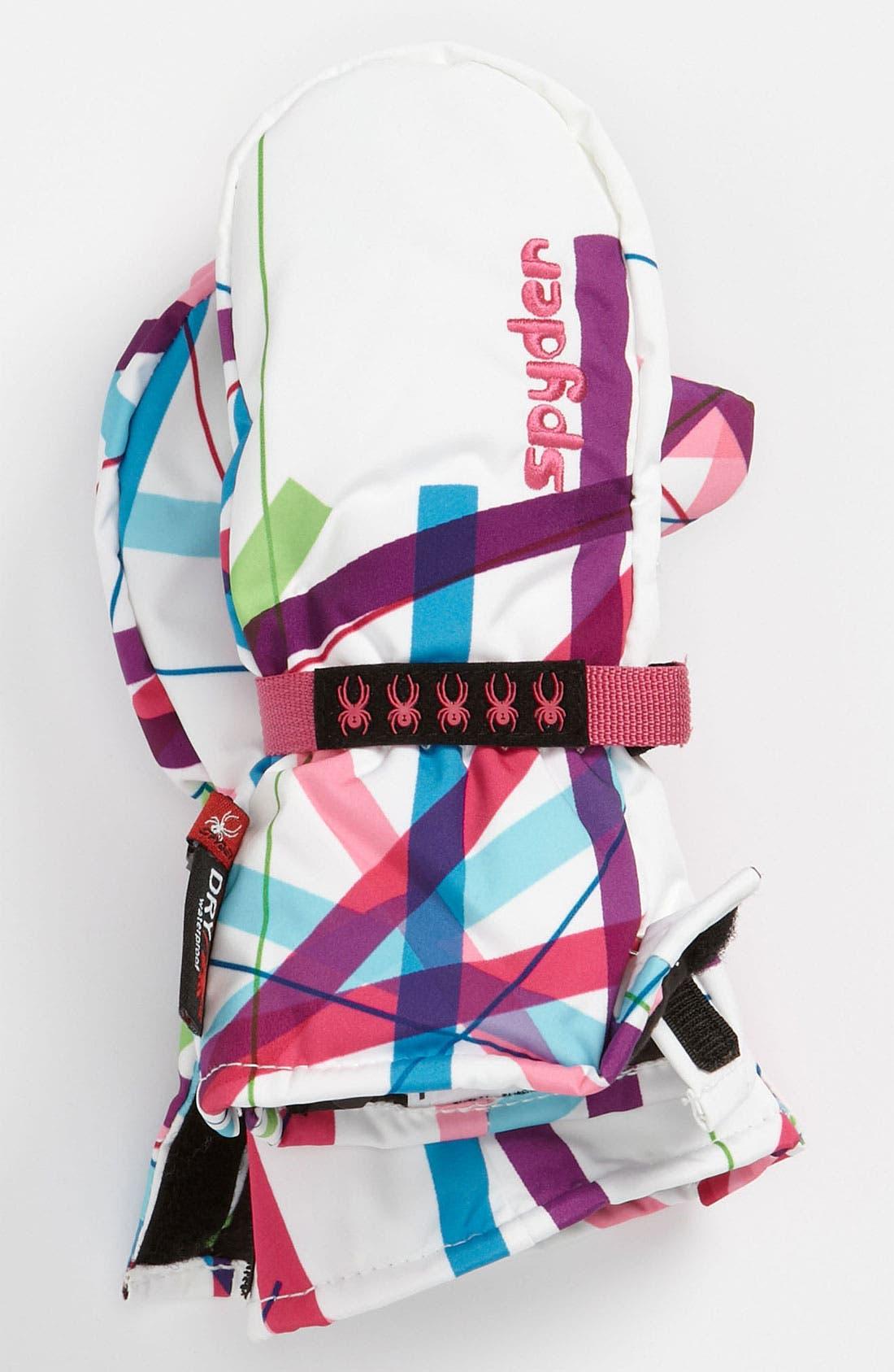 Main Image - Spyder 'Bitsy Cubby' Ski Mittens (Girls)