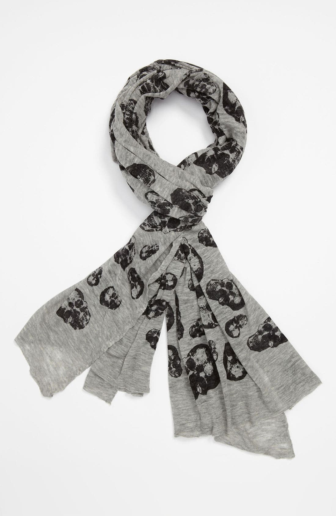 Alternate Image 1 Selected - John Varvatos Star USA Skull Scarf