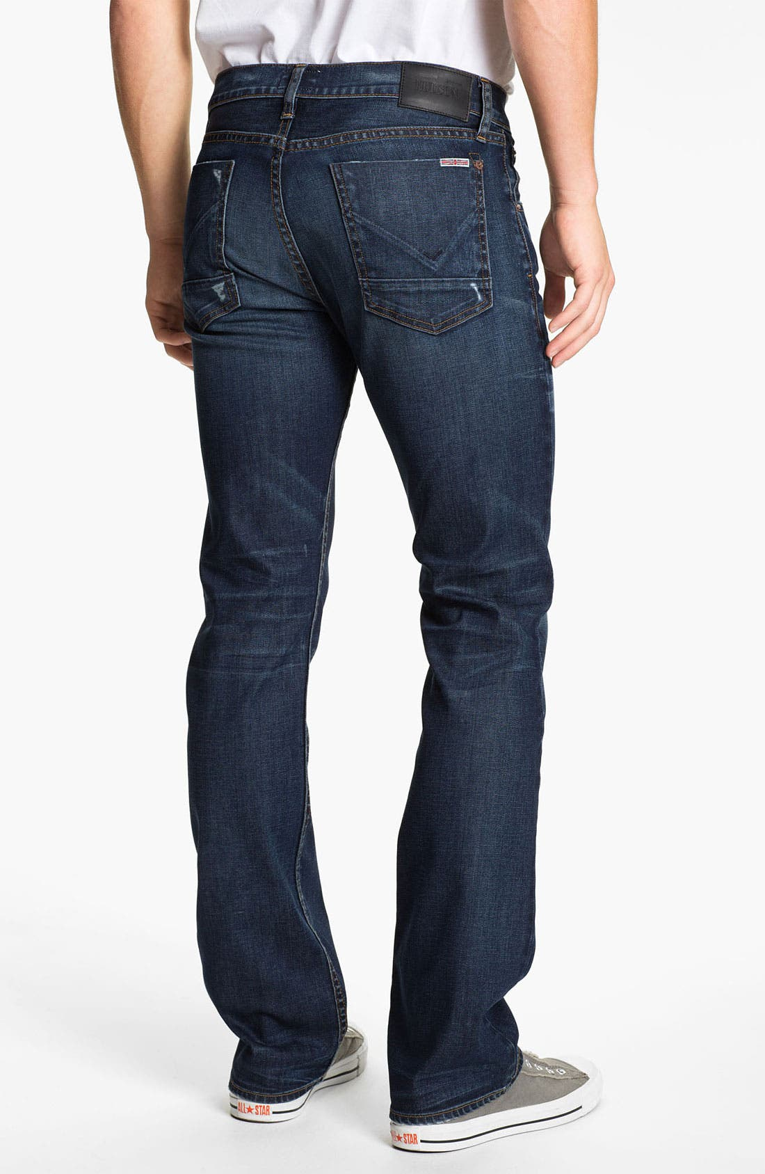Alternate Image 1 Selected - Hudson Jeans 'Clifton' Bootcut Jeans (Revert)