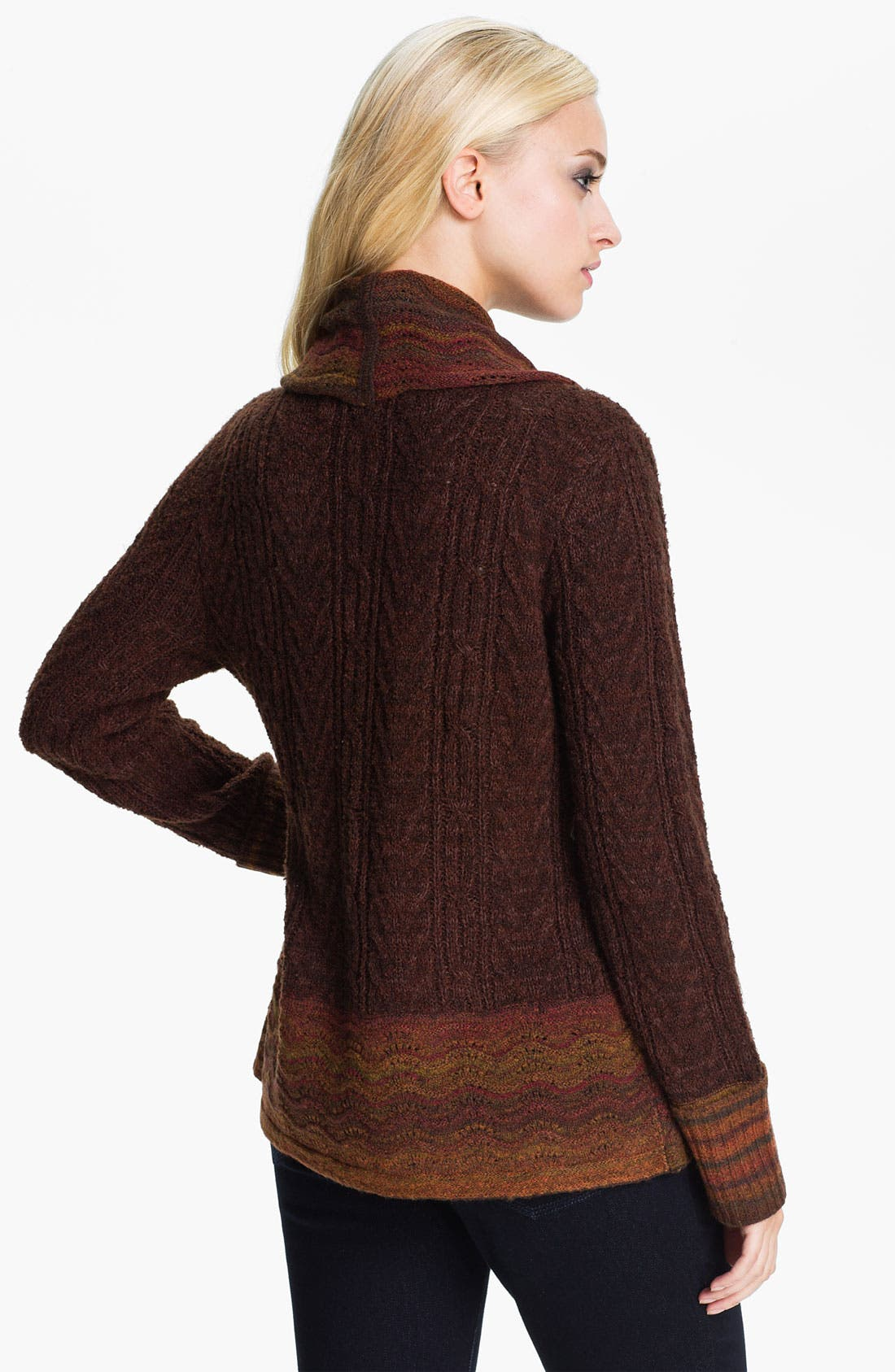 Alternate Image 2  - Curio Scallop Edge Cardigan
