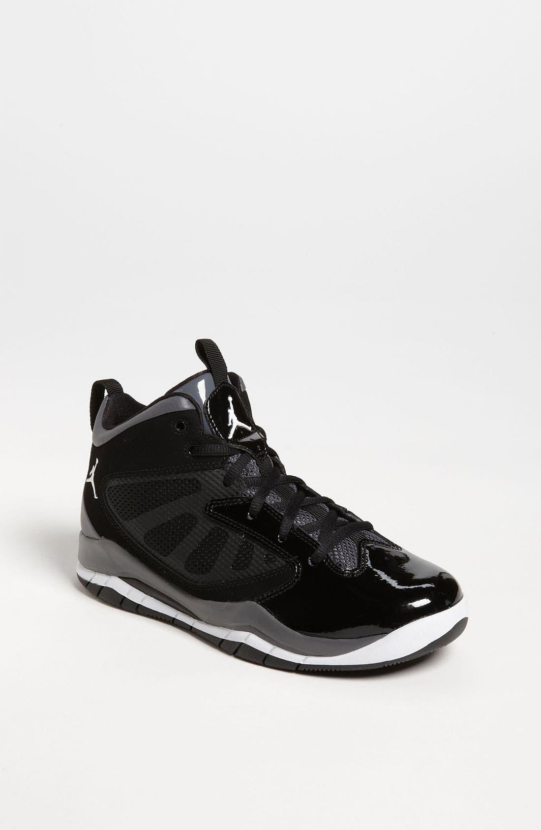 Alternate Image 1 Selected - Nike 'Jordan Flight Team 11' Basketball Shoe (Big Kid)