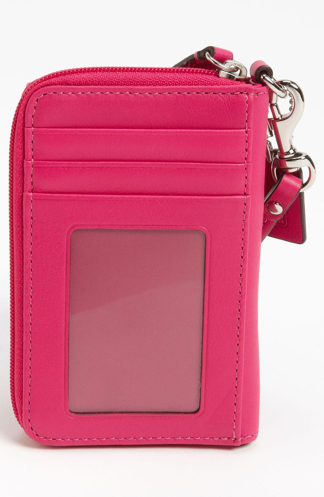 Alternate Image 4  - COACH 'Legacy' Smartphone Wristlet