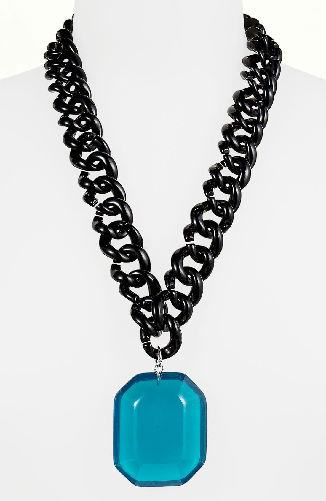 Alternate Image 1 Selected - Adia Kibur 'Gem Chain' Necklace