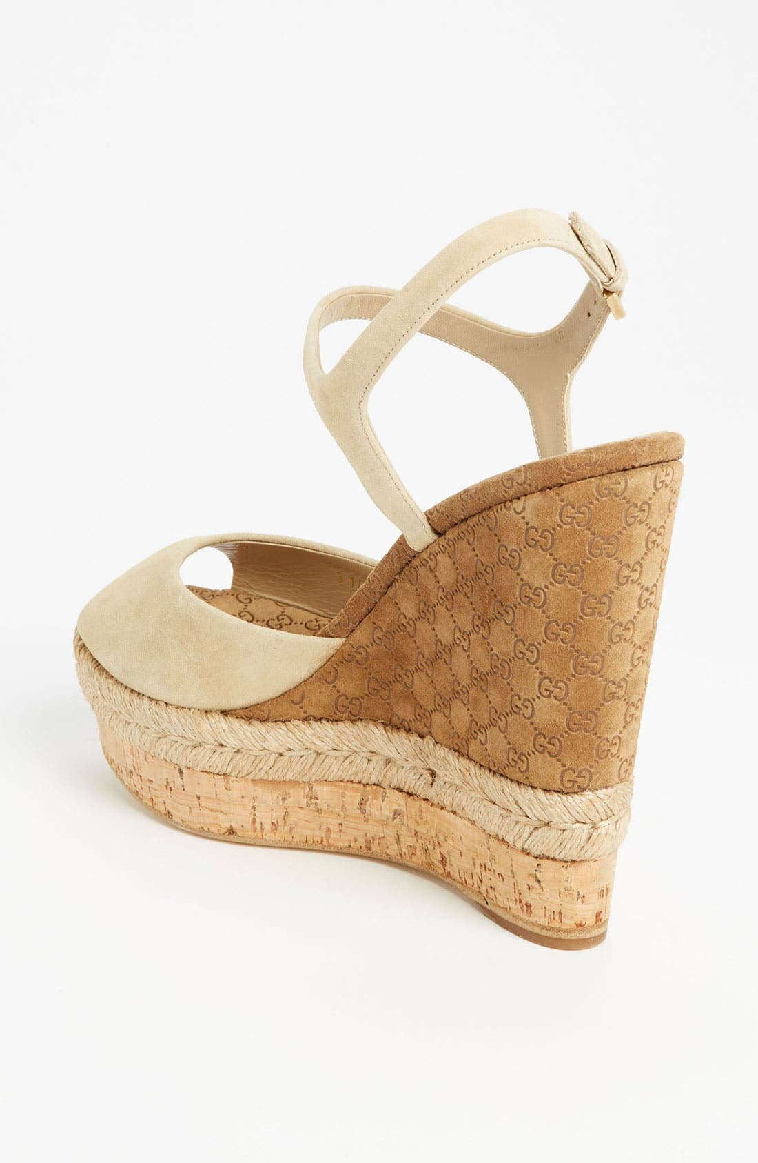Alternate Image 2  - Gucci 'Hollie' Wedge Sandal