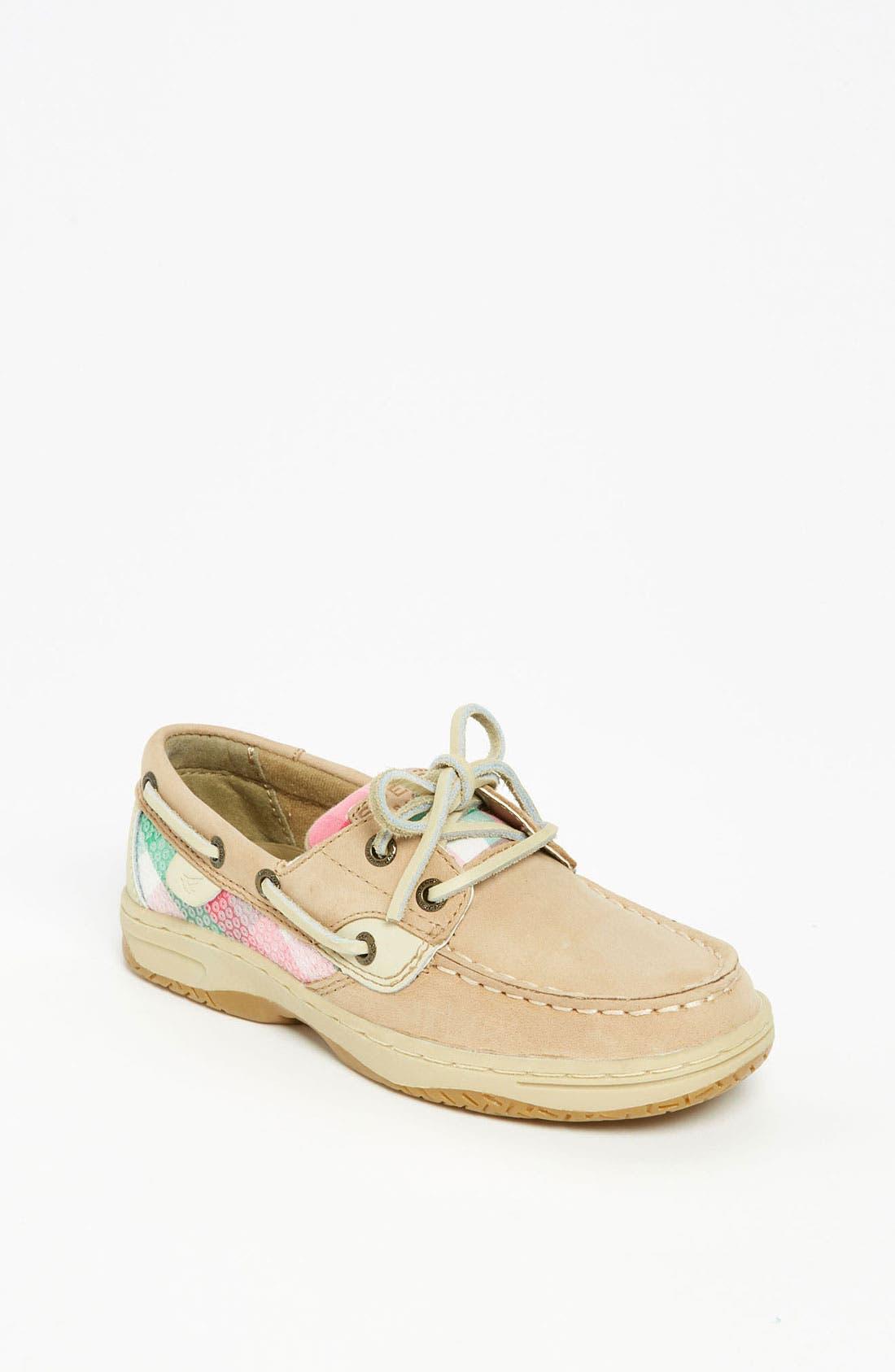 Main Image - Sperry Top-Sider® 'Bluefish' Boat Shoe (Walker, Toddler, Little Kid & Big Kid)