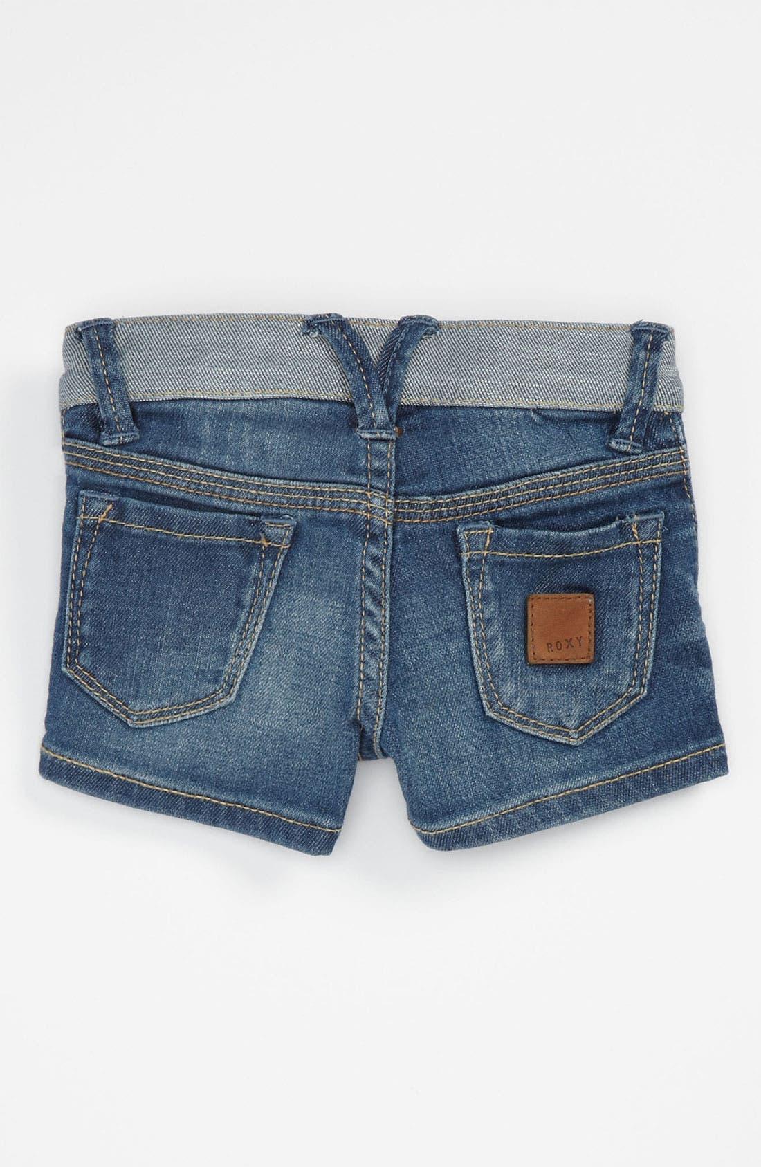Alternate Image 1 Selected - 'Sundown' Denim Shorts (Toddler)