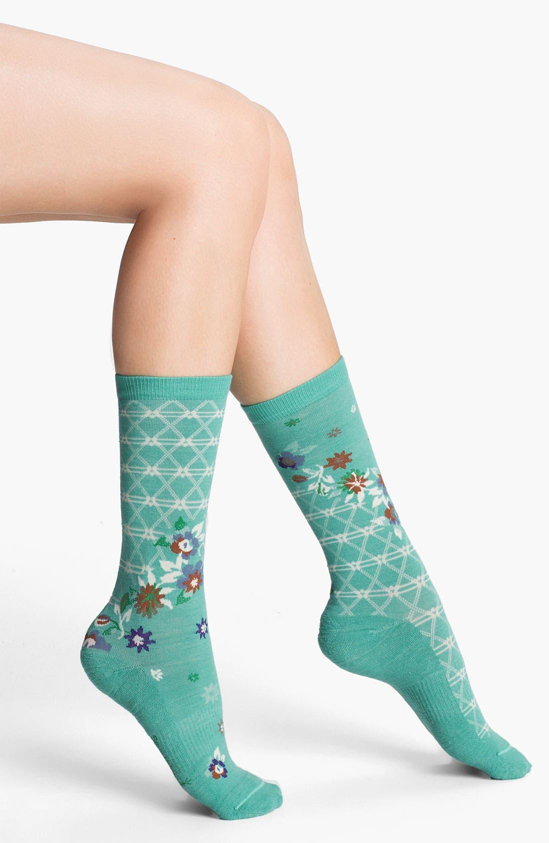 Alternate Image 1 Selected - Smartwool 'Cherry Blossom' Socks
