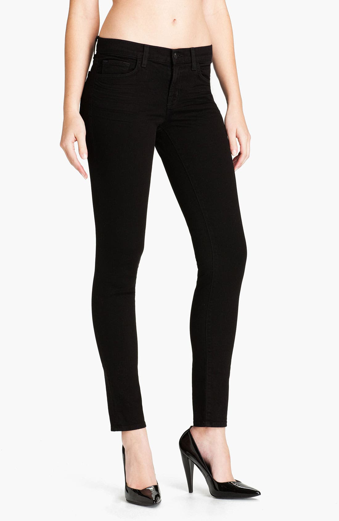 Main Image - J Brand Skinny Denim Leggings (Shadow)