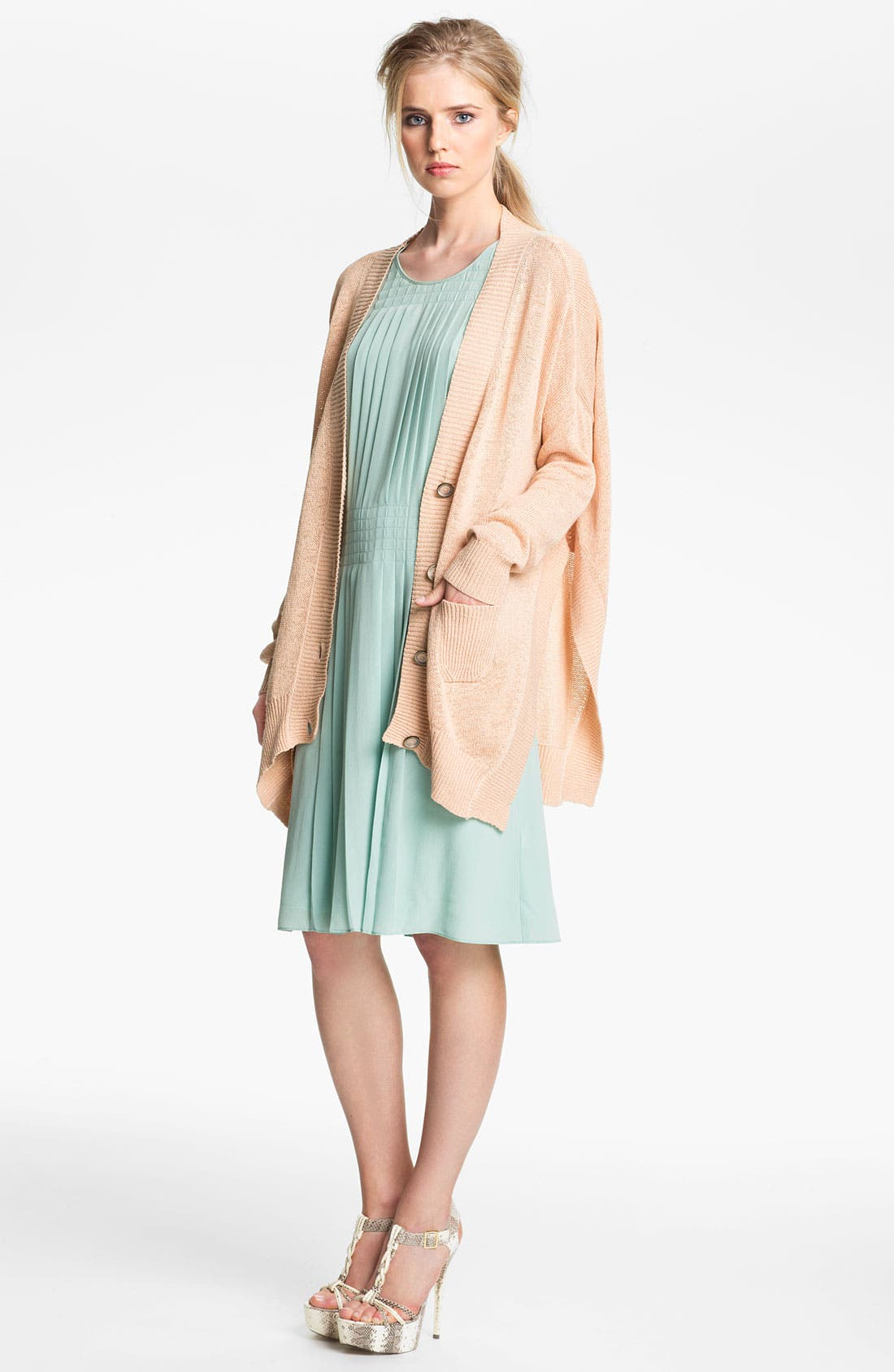 Alternate Image 3  - Rachel Zoe 'Helena' Oversized V-Neck Cardigan