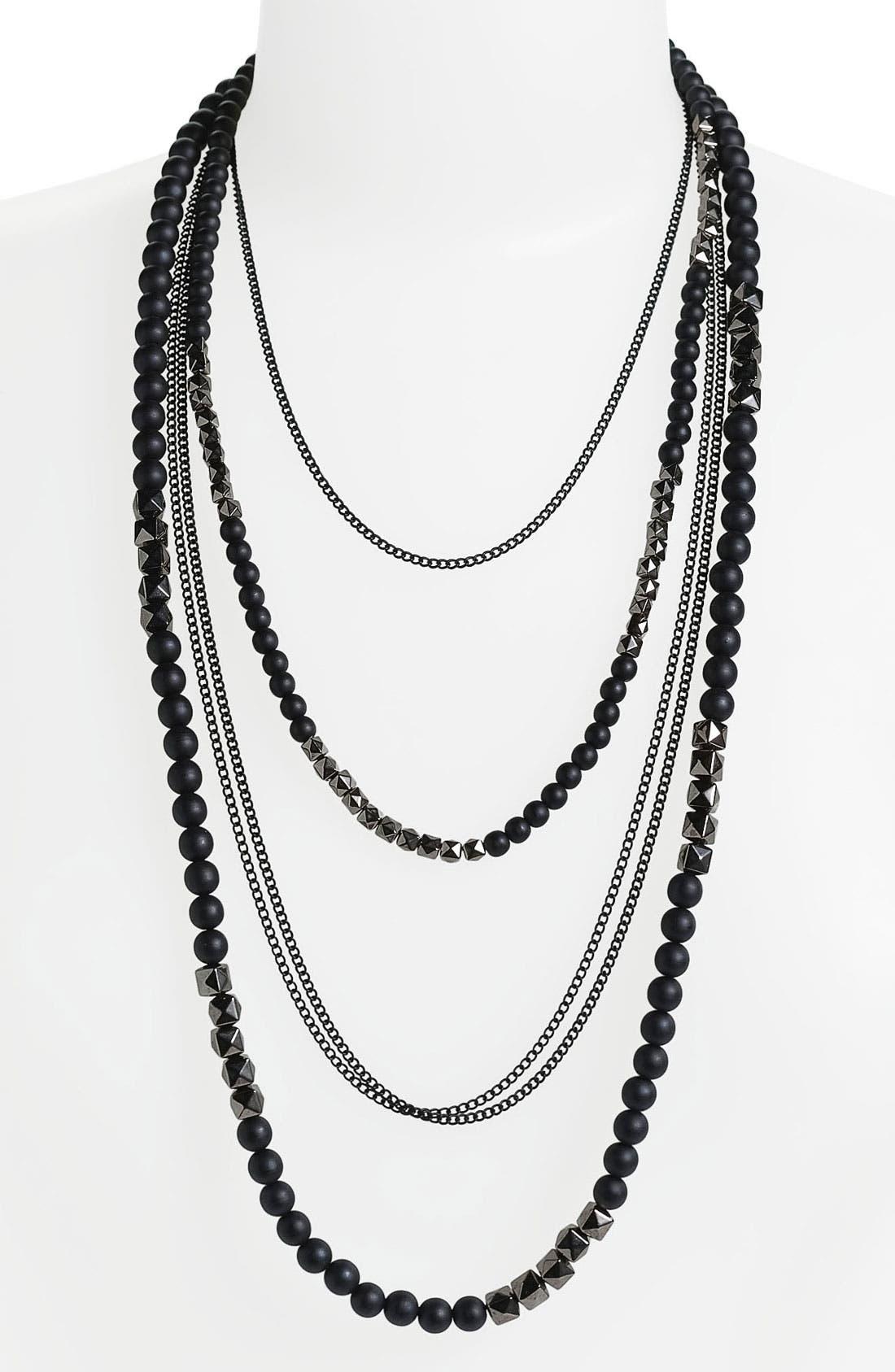 Alternate Image 1 Selected - Natasha Couture Multistrand Necklace
