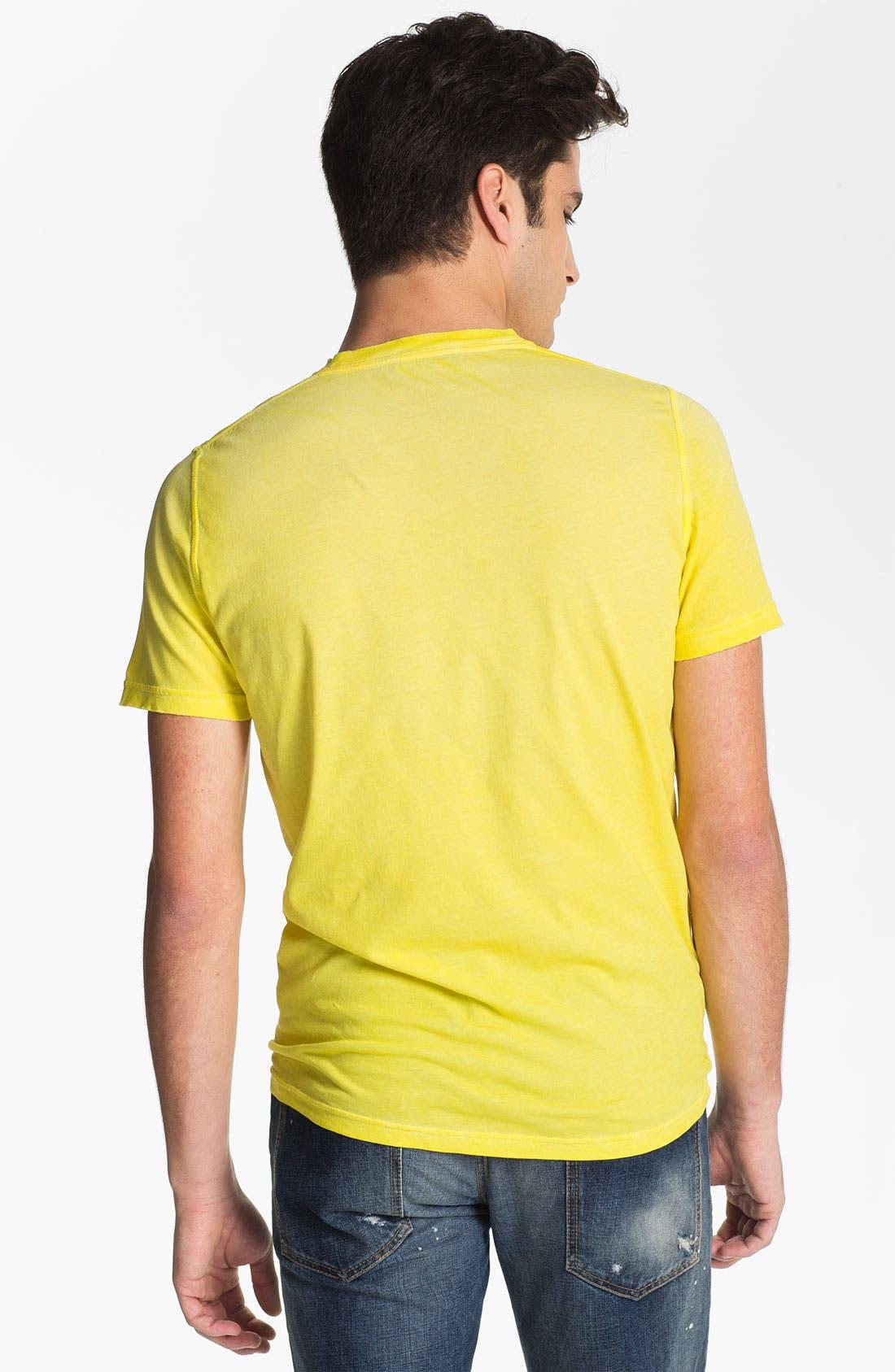 Alternate Image 2  - Dsquared2 Logo Print Pocket T-Shirt