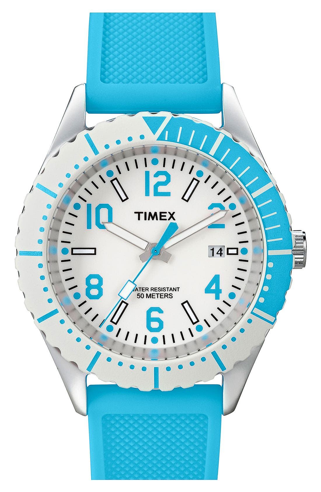 Alternate Image 1 Selected - Timex® 'Originals Sport Brights' Silicone Strap Watch