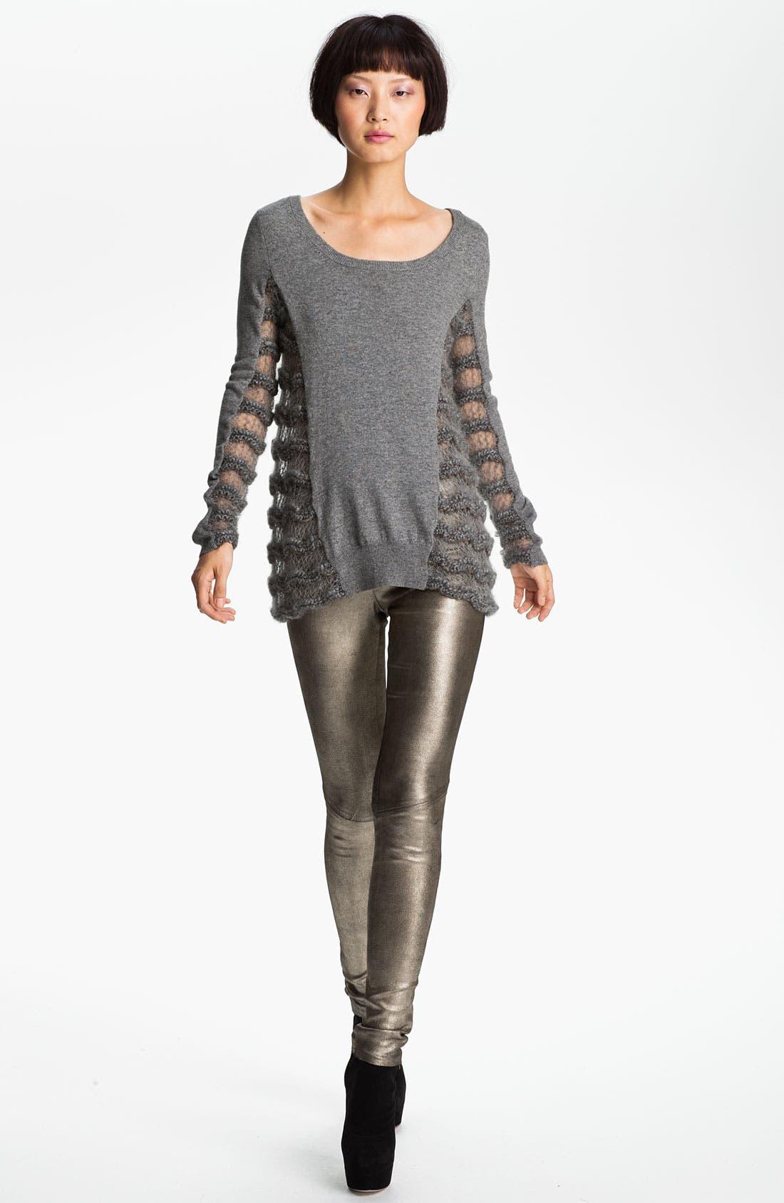 Alternate Image 1 Selected - Skaist-Taylor Drop Stitch Sweater