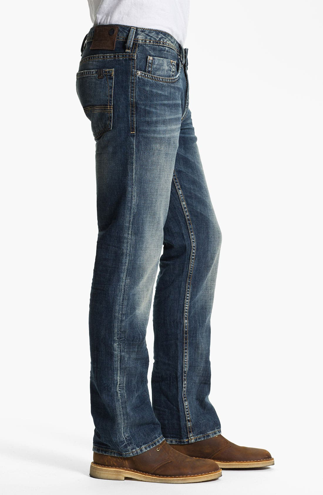 Alternate Image 3  - Buffalo Jeans 'Driven' Straight Leg Jeans (Vintage Worn)