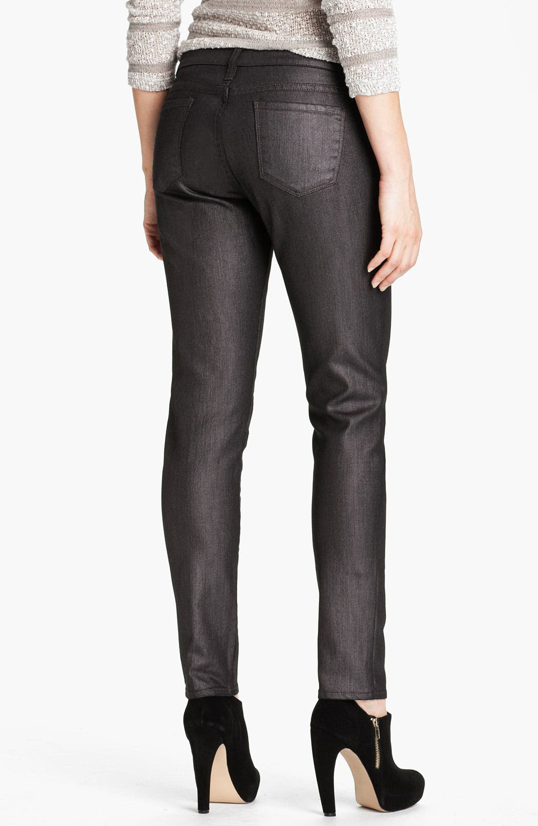 Alternate Image 2  - KUT from the Kloth 'Jennifer' Skinny Stretch Jeans (Silver) (Online Exclusive)