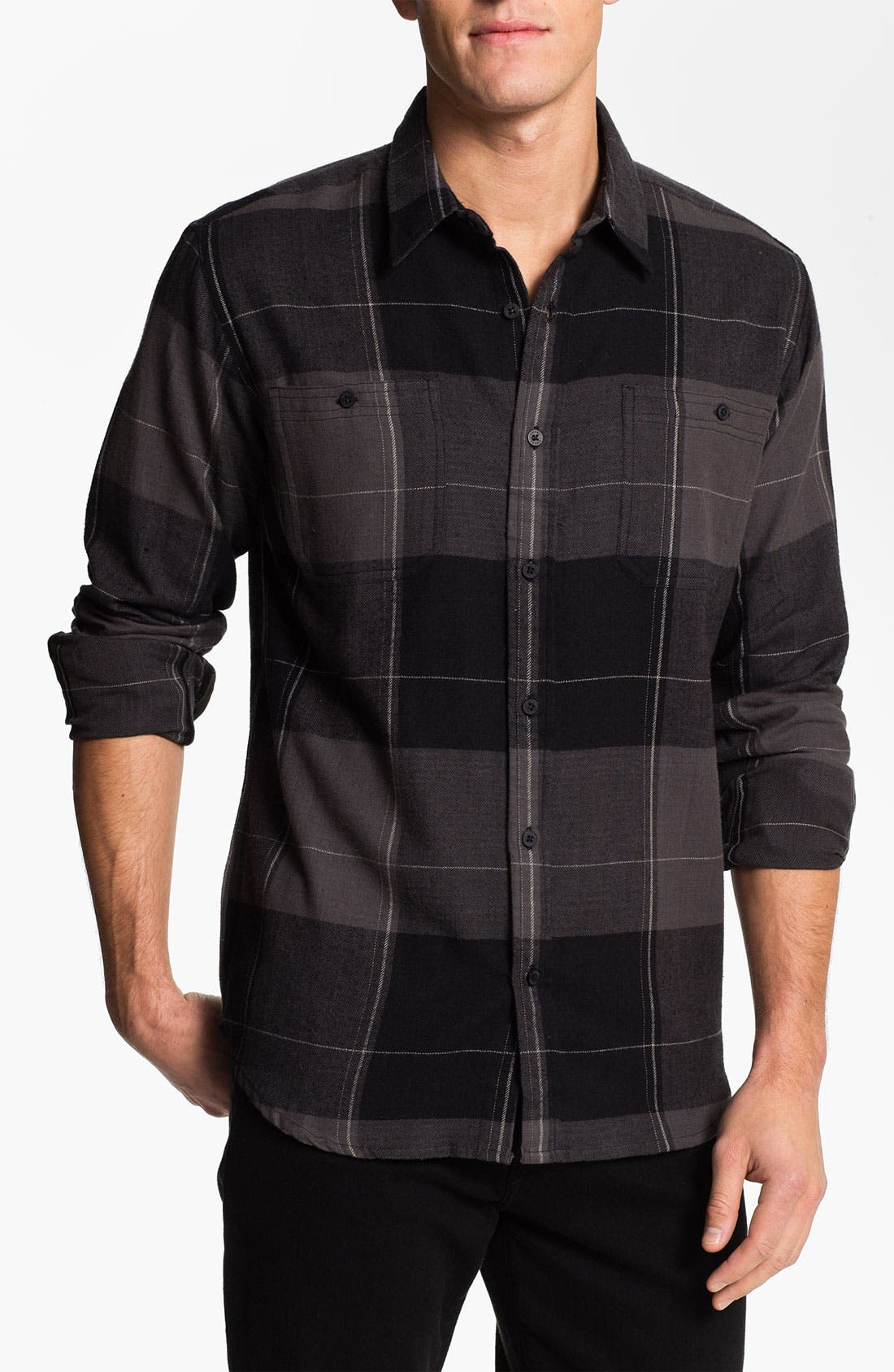 Alternate Image 1 Selected - Ezekiel Herringbone Flannel Shirt