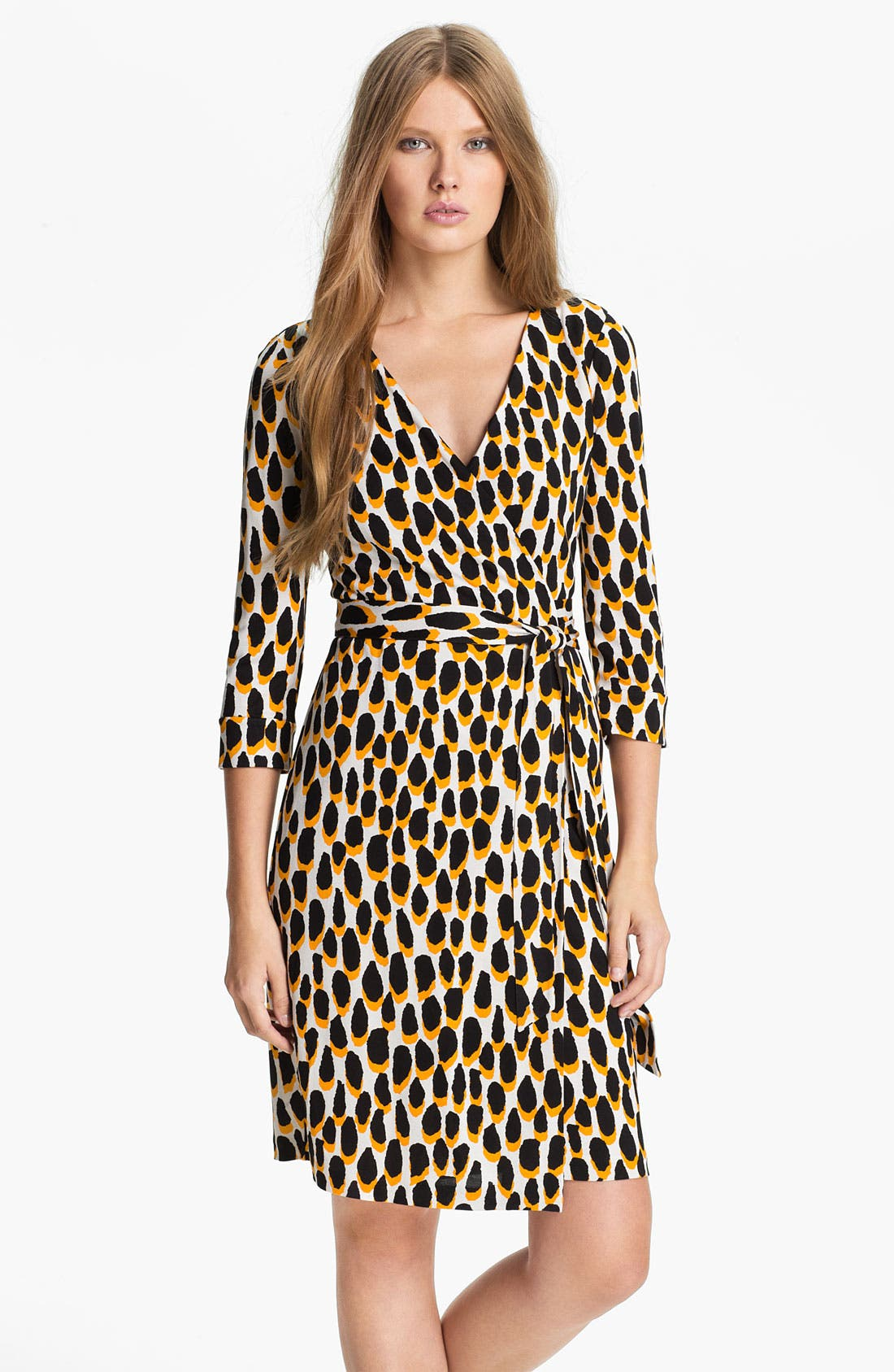 Alternate Image 1 Selected - Diane von Furstenberg 'New Julian 2' Silk Wrap Dress