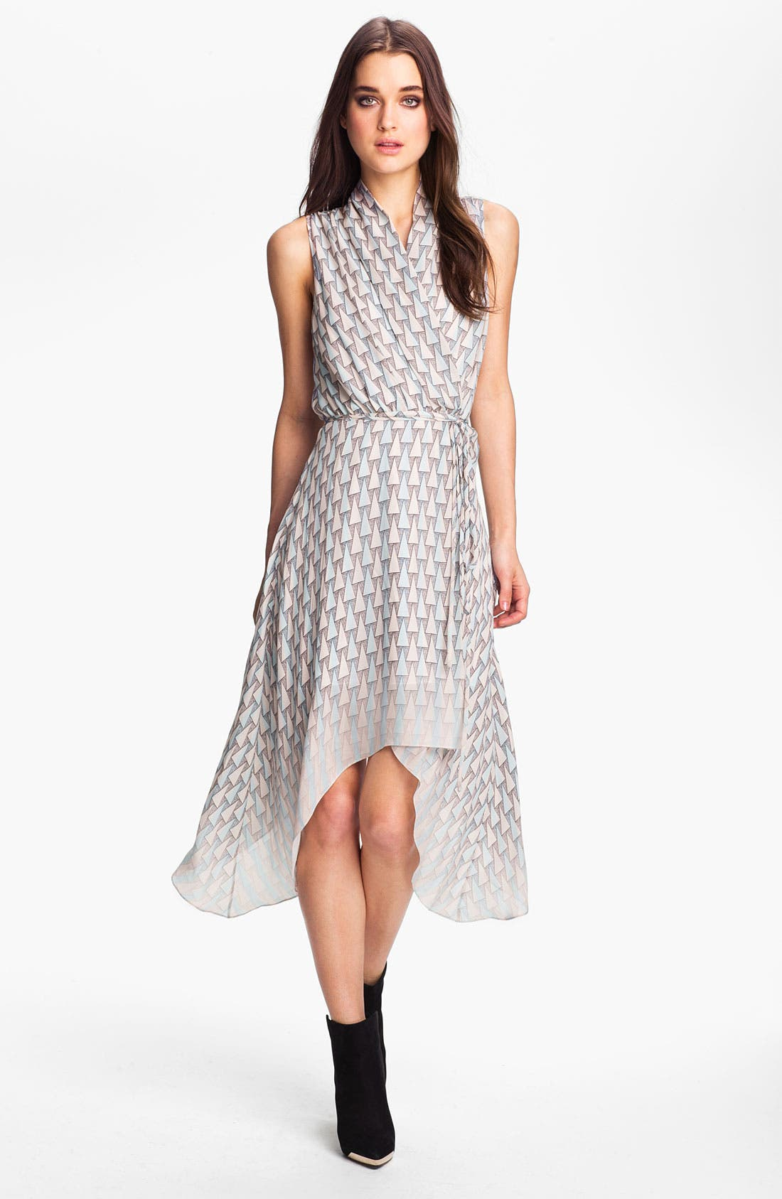Alternate Image 1 Selected - Rebecca Minkoff 'Eros' Asymmetrical Wrap Dress