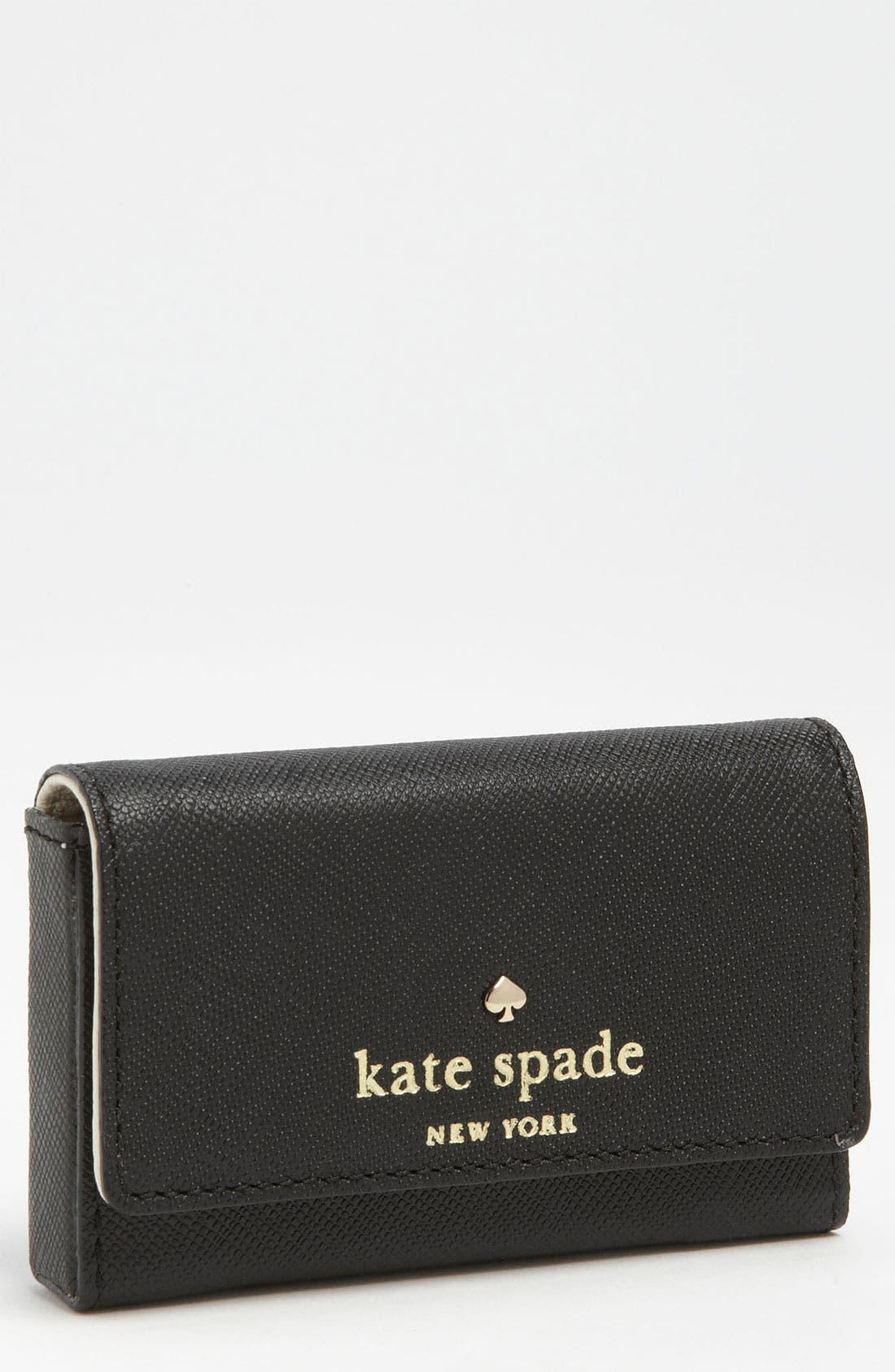 Alternate Image 1 Selected - kate spade new york 'mikas pond - holly' card case