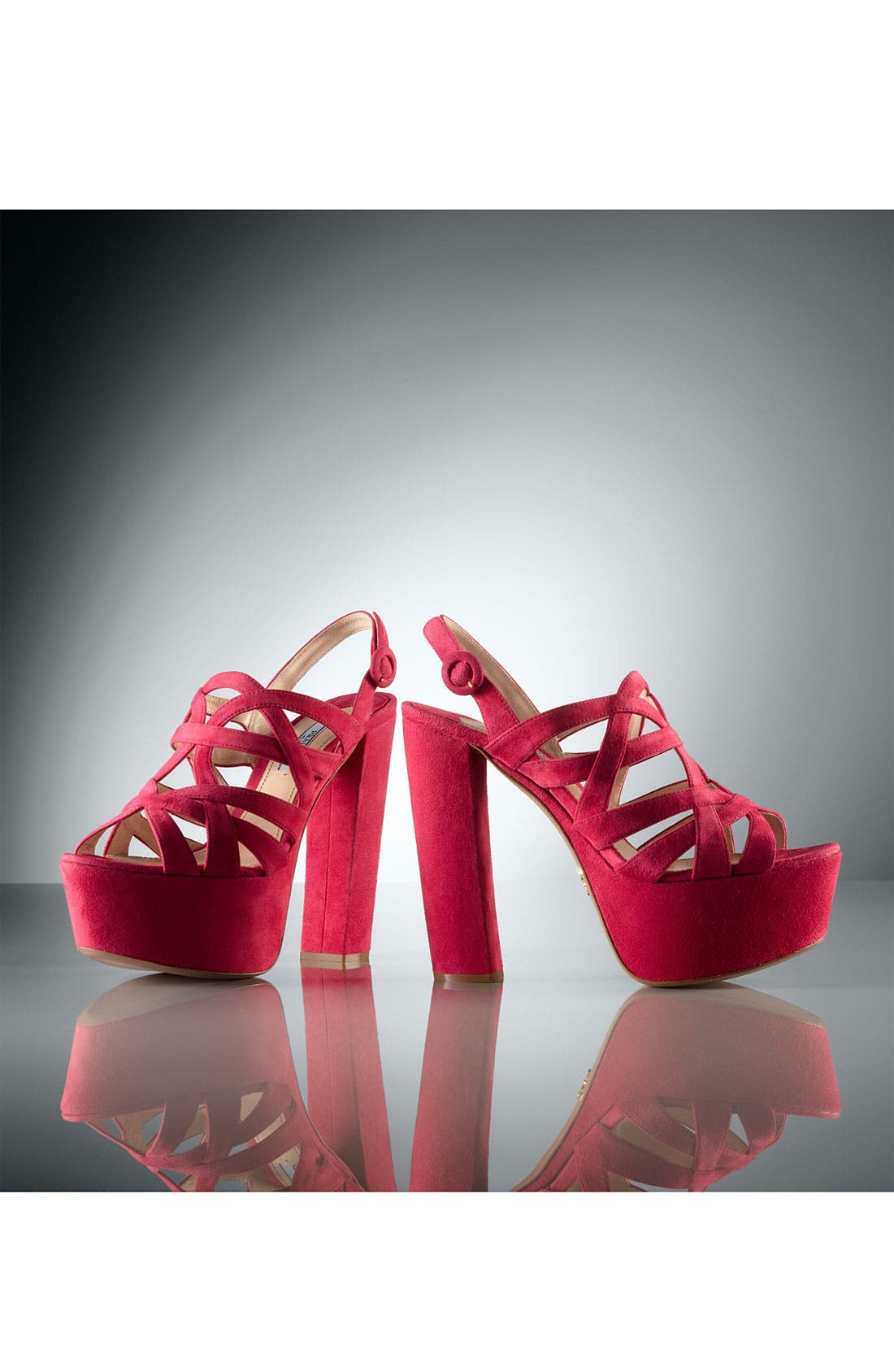 Alternate Image 5  - Prada Caged Platform Sandal