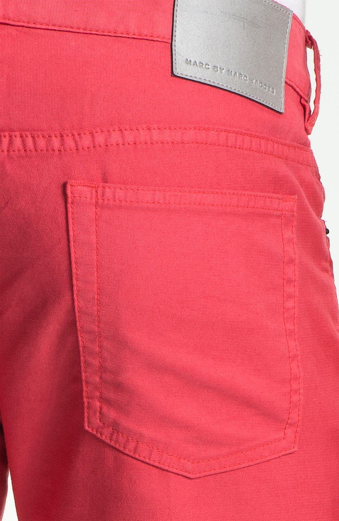 Alternate Image 3  - MARC BY MARC JACOBS Slim Straight Leg Pants