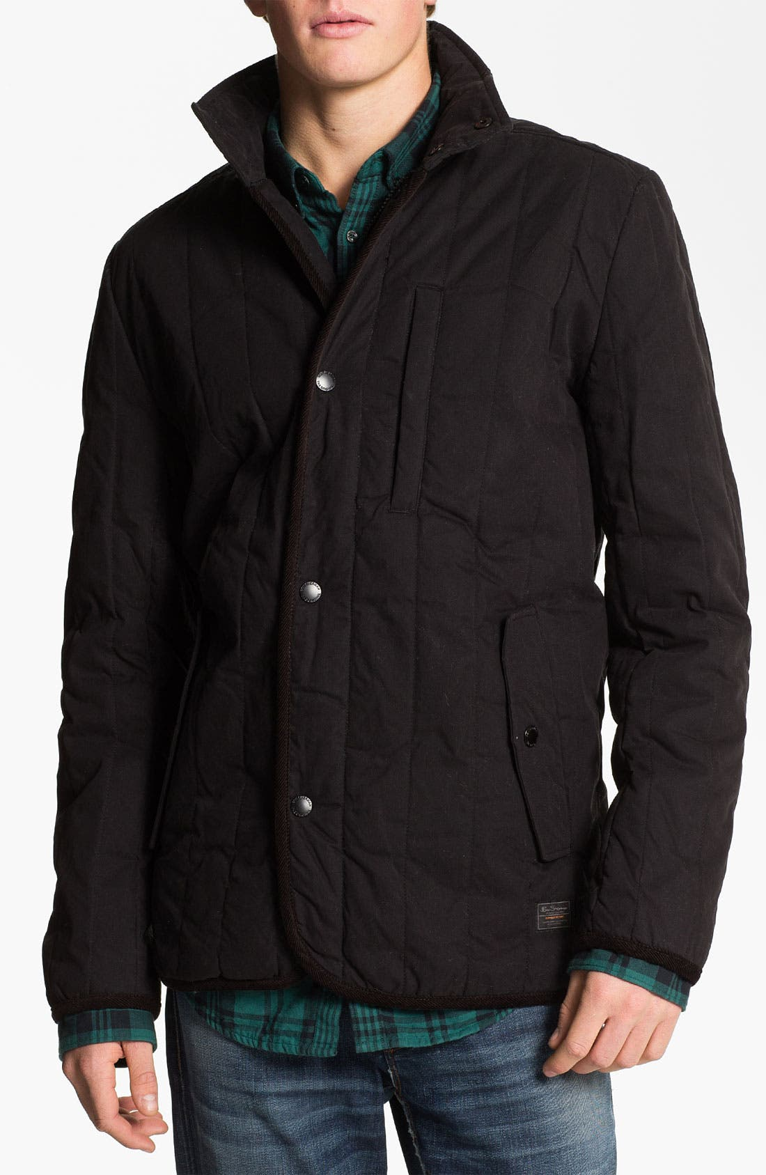 Alternate Image 1 Selected - Ben Sherman Quilted Puffer Jacket