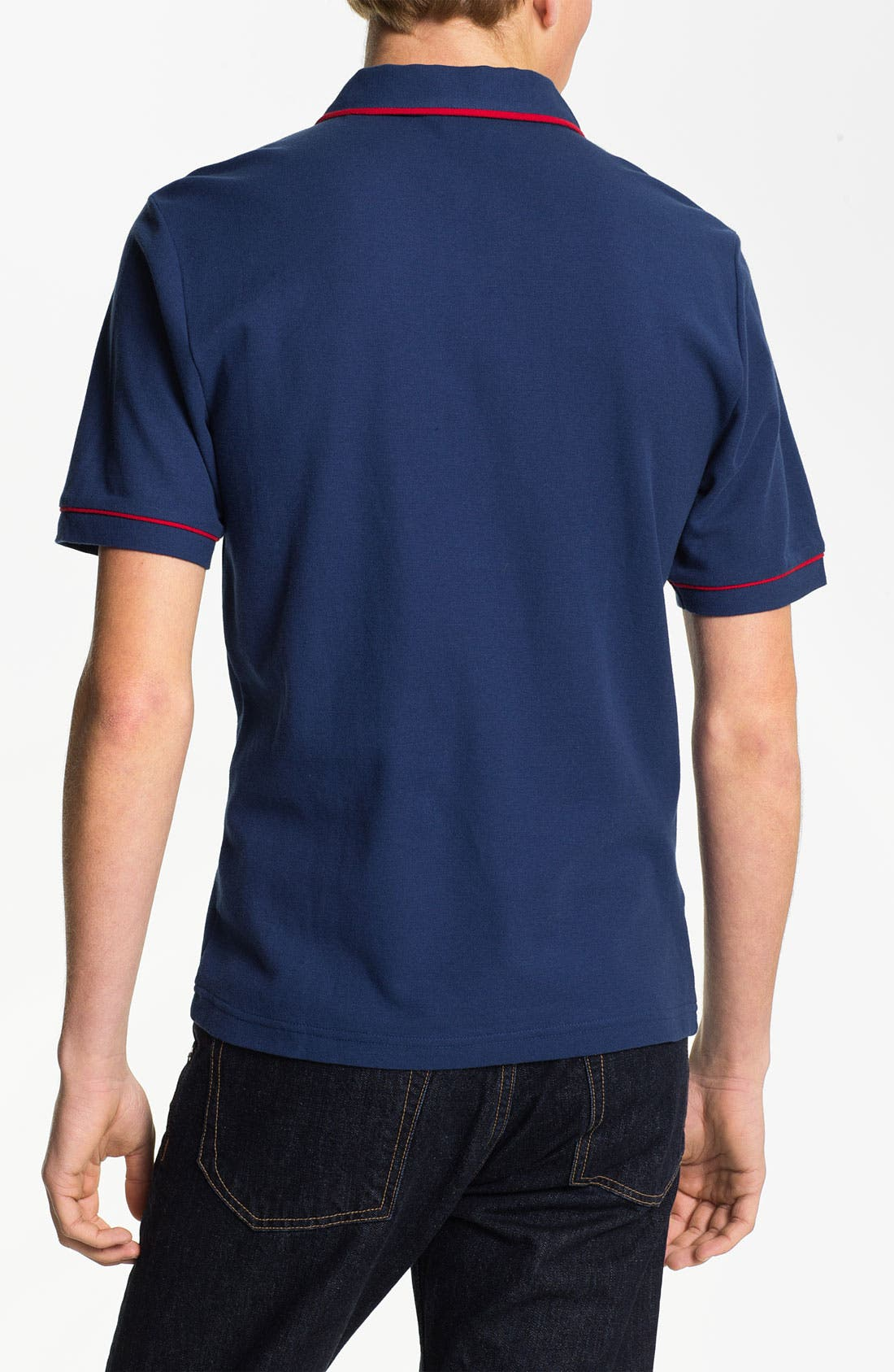 Alternate Image 2  - Original Penguin 'The Earl' Slim Fit Piqué Polo
