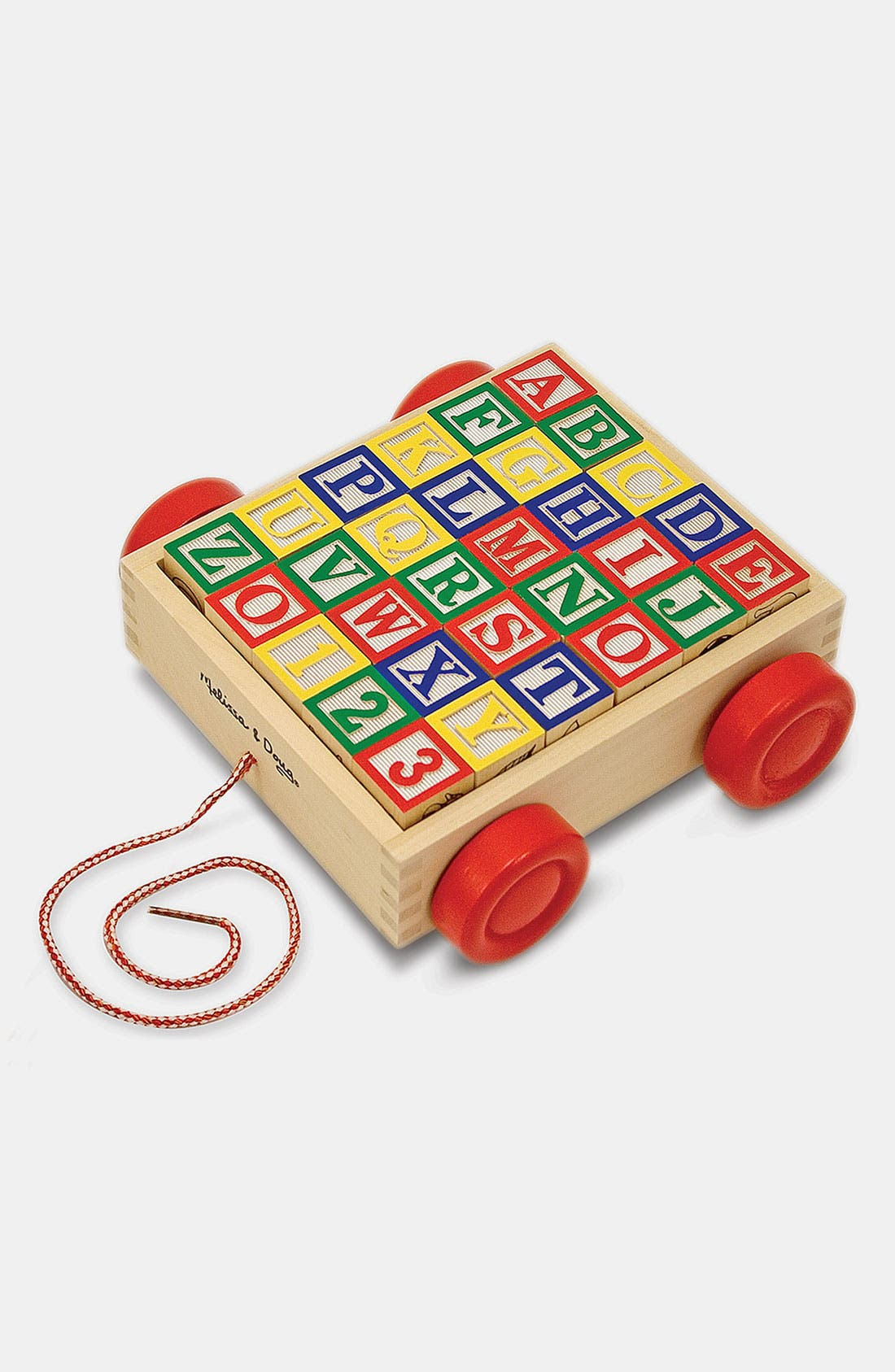 Alternate Image 1 Selected - Melissa & Doug 'ABC' Block Cart