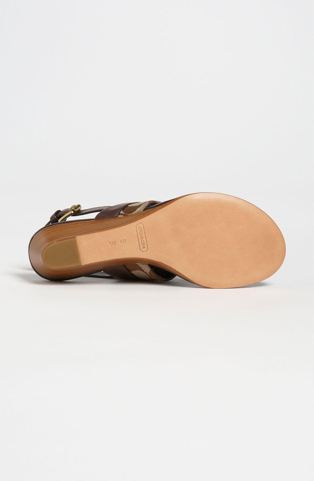 Alternate Image 4  - COACH 'Violett' Sandal