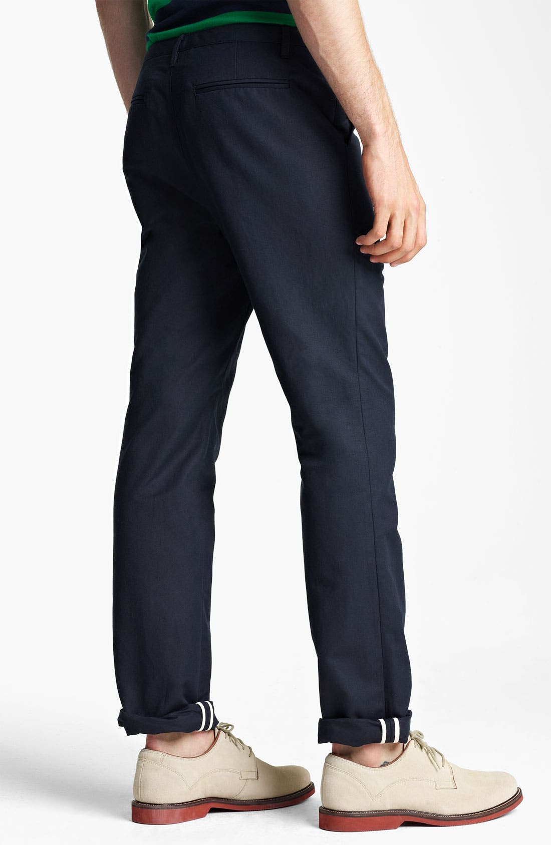 Alternate Image 2  - Shipley & Halmos Slim Fit Cotton Pants