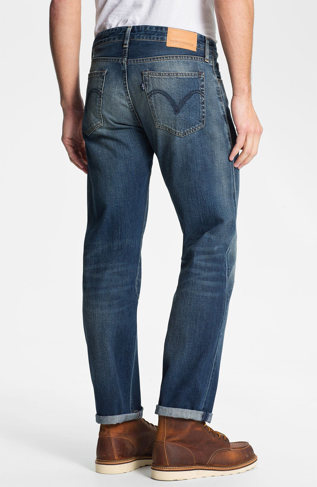 Alternate Image 2  - Levi's® Made & Crafted™ 'Ruler' Straight Leg Jeans (Sparkling)