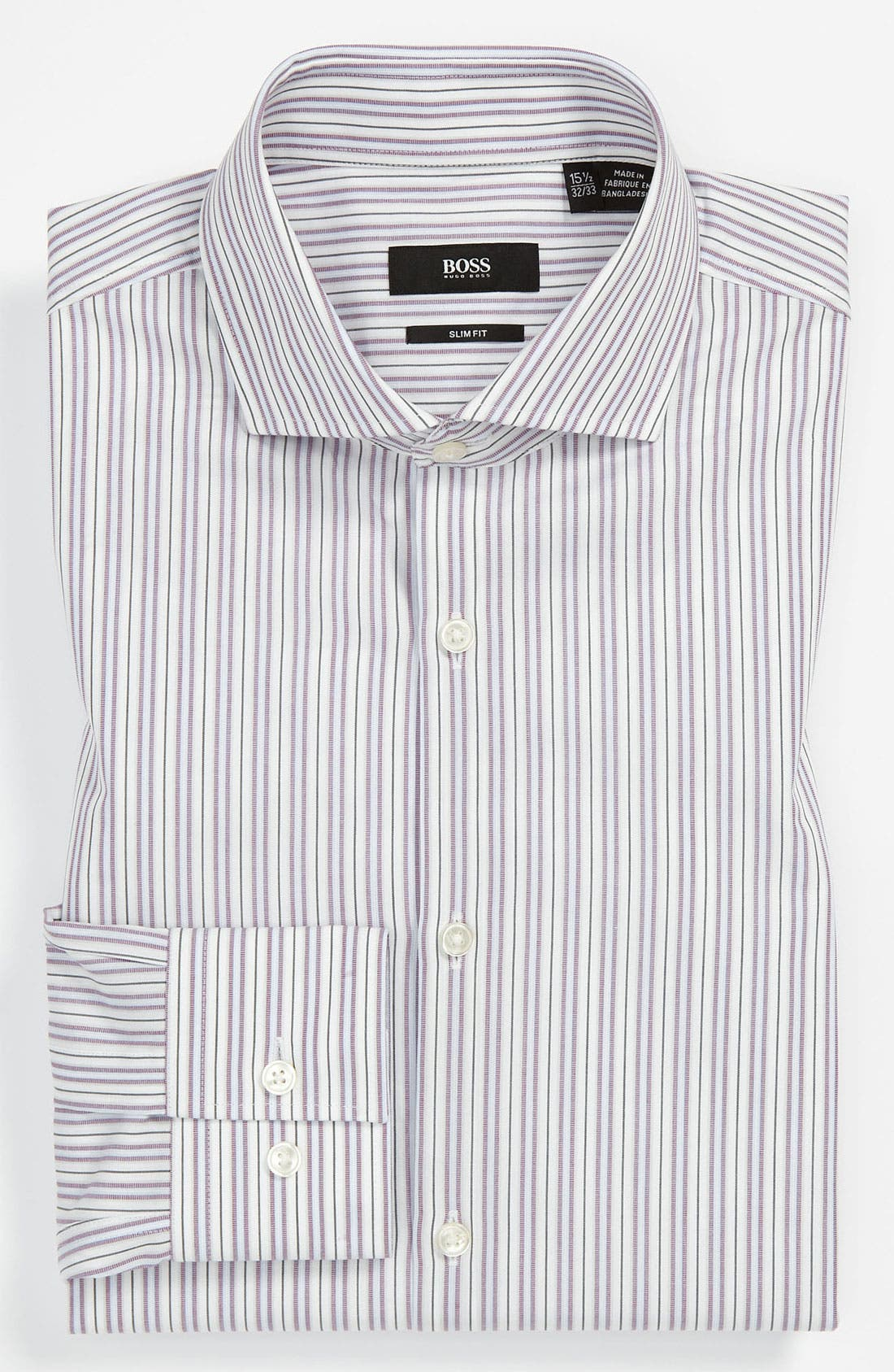 Main Image - BOSS Black Slim Fit Dress Shirt (Online Only)
