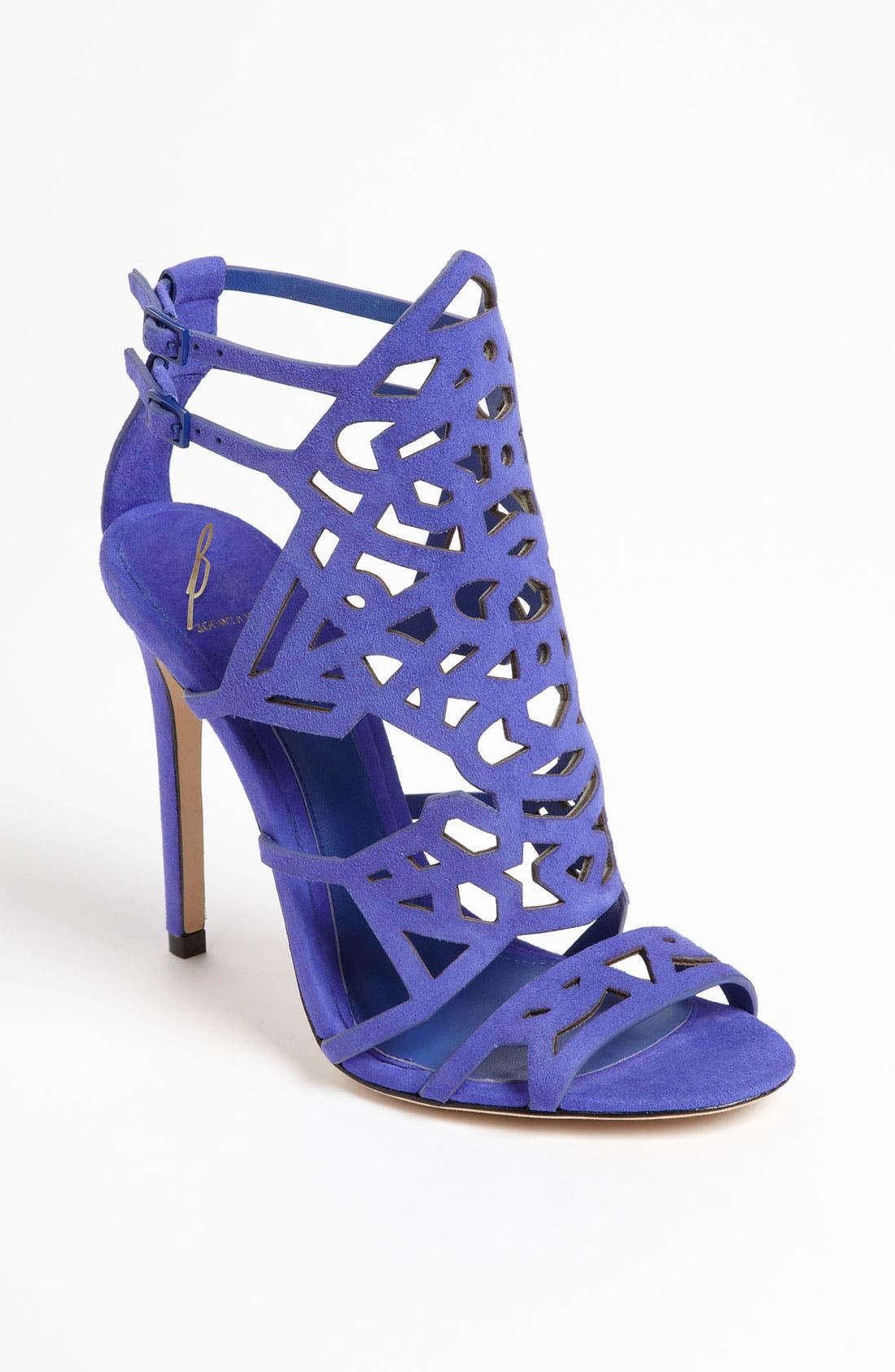 'Laplata' High Sandal,                         Main,                         color, Purple