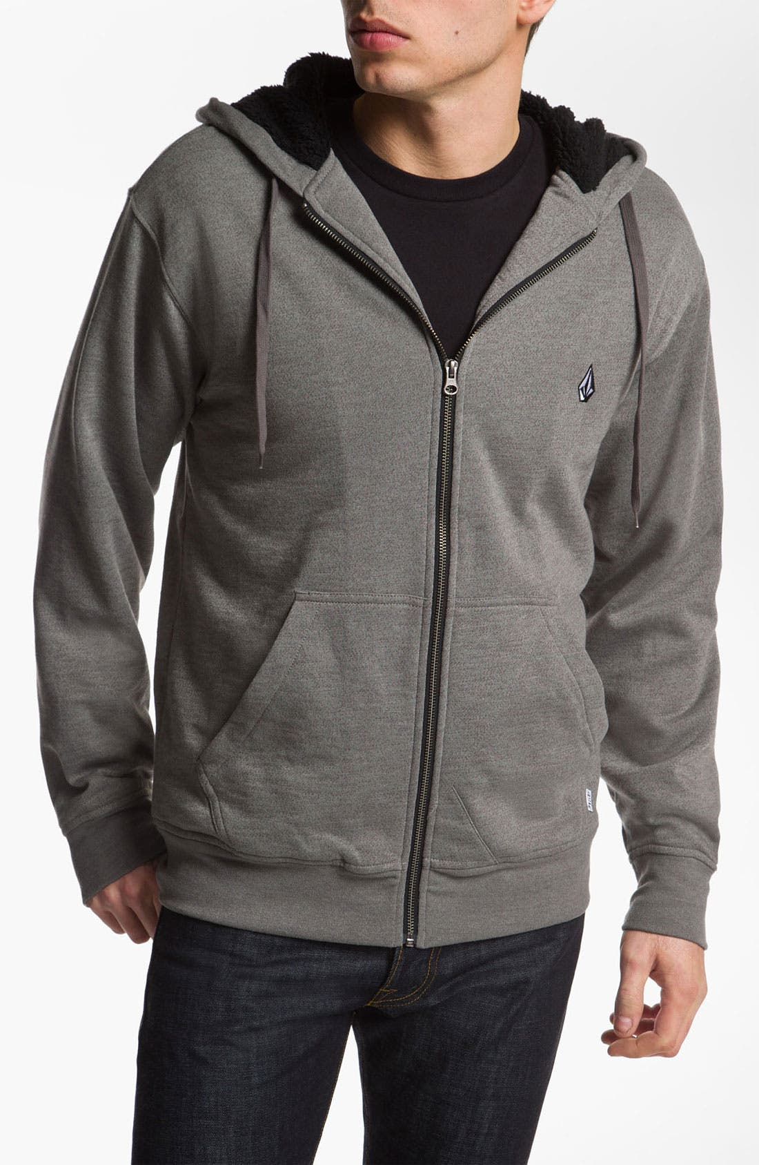 Alternate Image 1 Selected - Volcom 'Peps' Zip Hoodie
