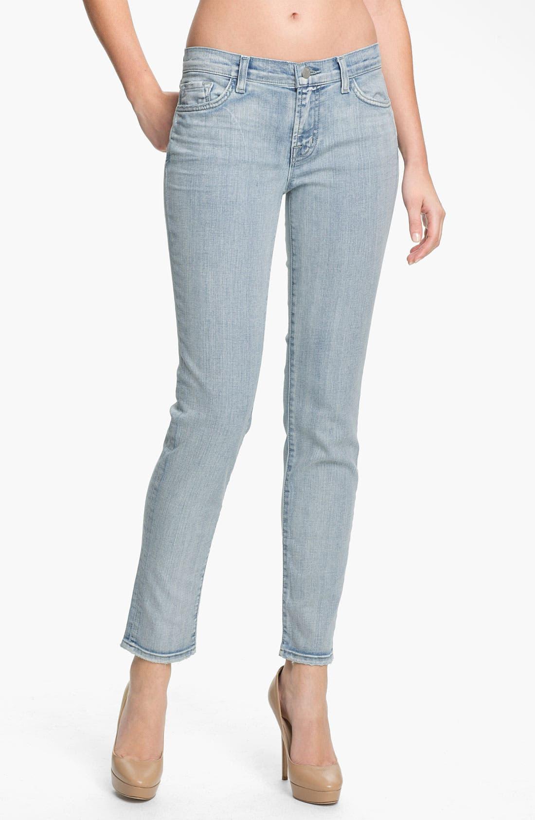 Alternate Image 1 Selected - J Brand '811' Skinny Stretch Jeans (Afterlife)