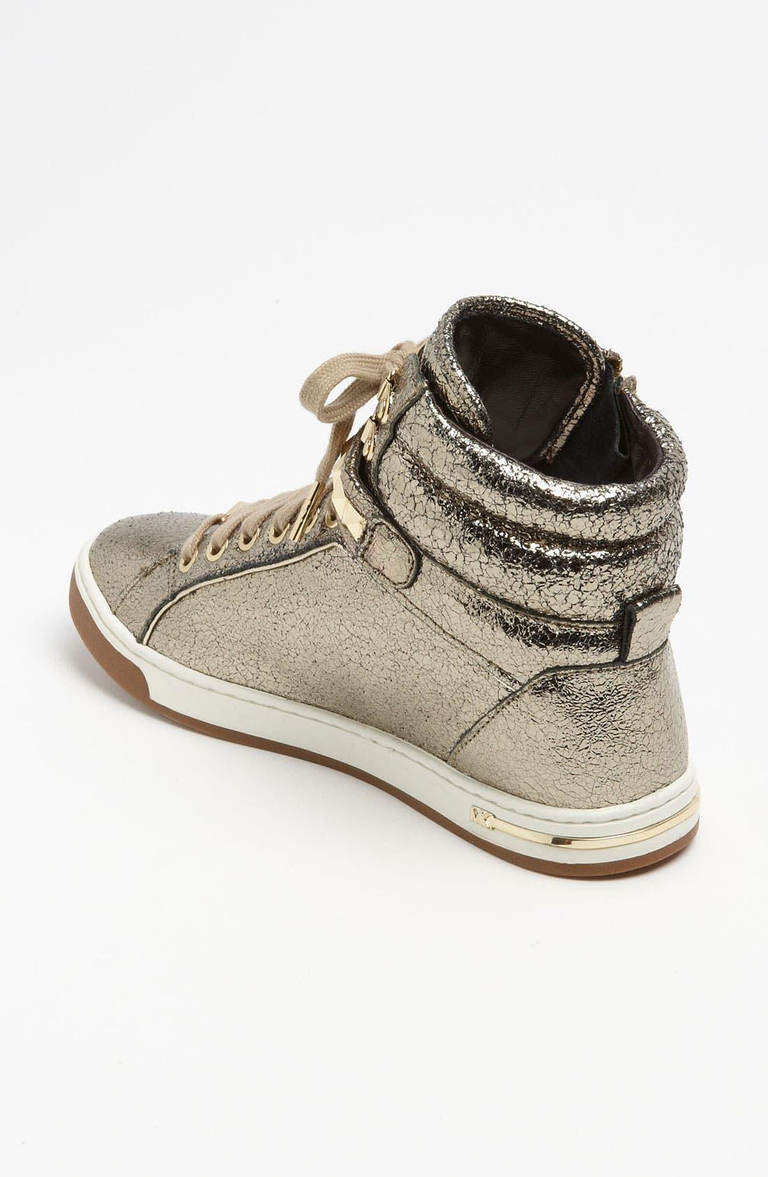 Alternate Image 2  - MICHAEL Michael Kors 'Glam' High Top Sneaker