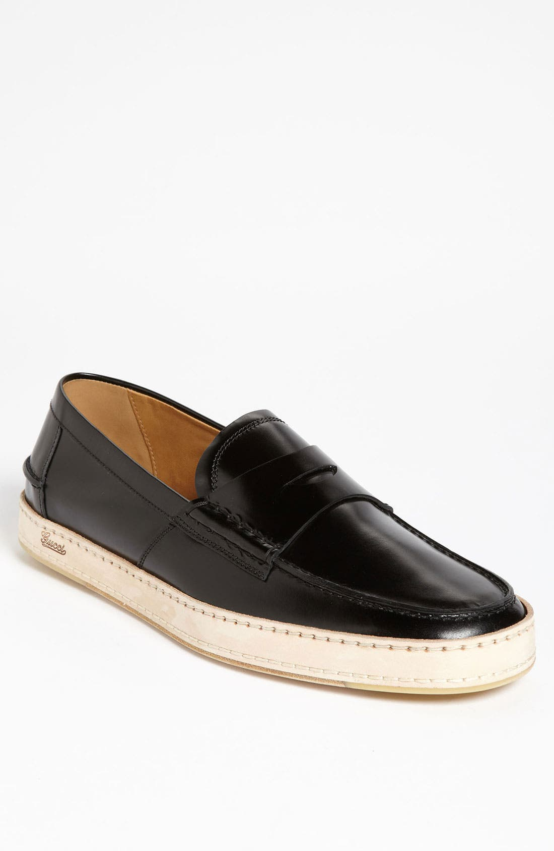 Alternate Image 1 Selected - Gucci 'Gand' Penny Loafer