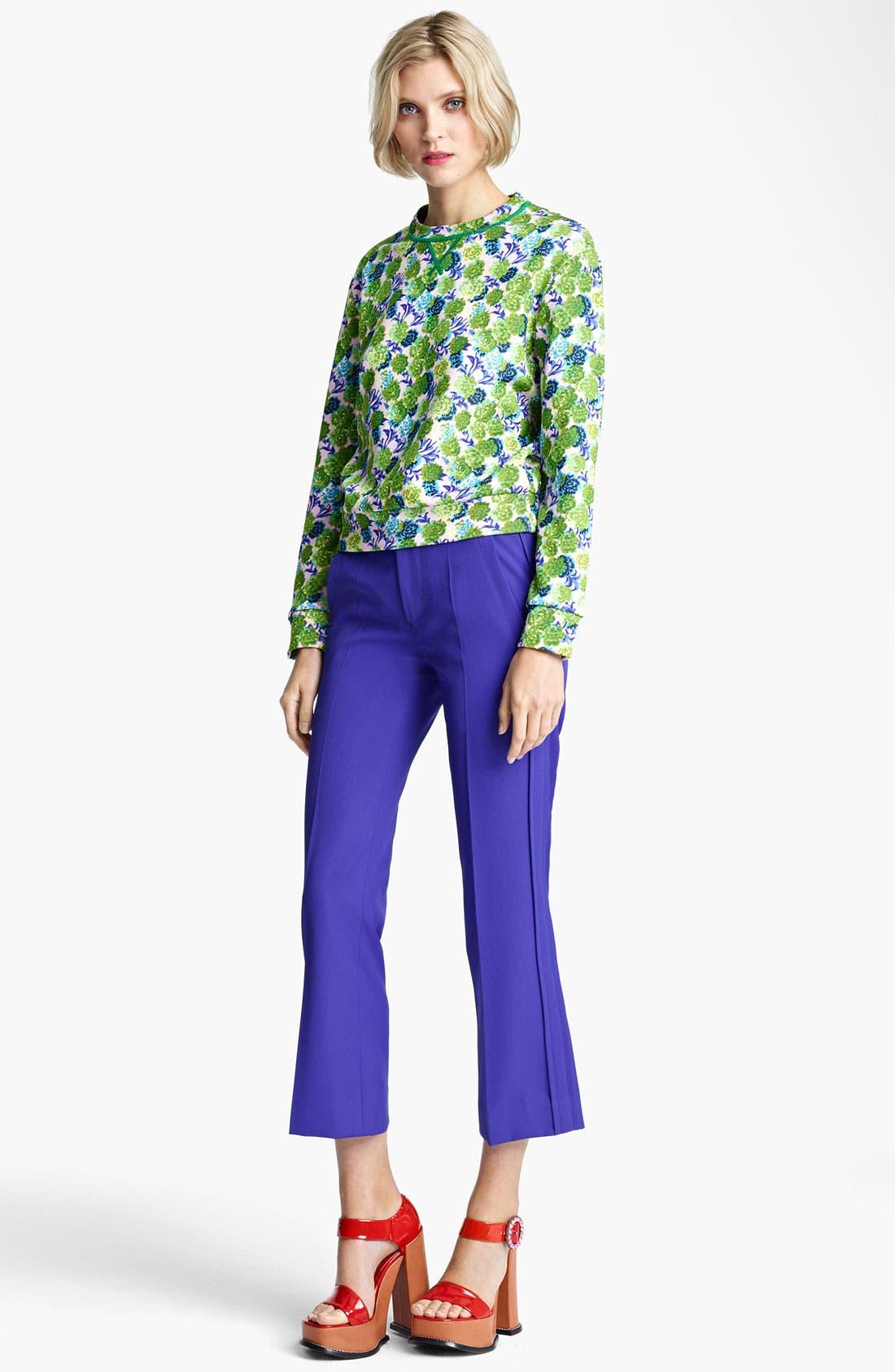 Alternate Image 4  - MARC JACOBS Floral Print Sweatshirt